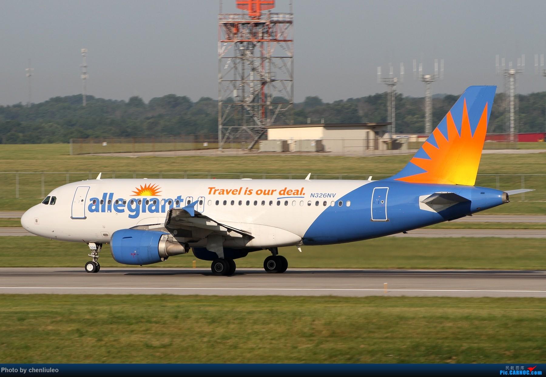 Re:[原创]【北美飞友会】辛辛那提北肯塔基国际机场 货机的天堂 AIRBUS A319-100 N326NV 美国辛辛那提-北肯塔基国际机场