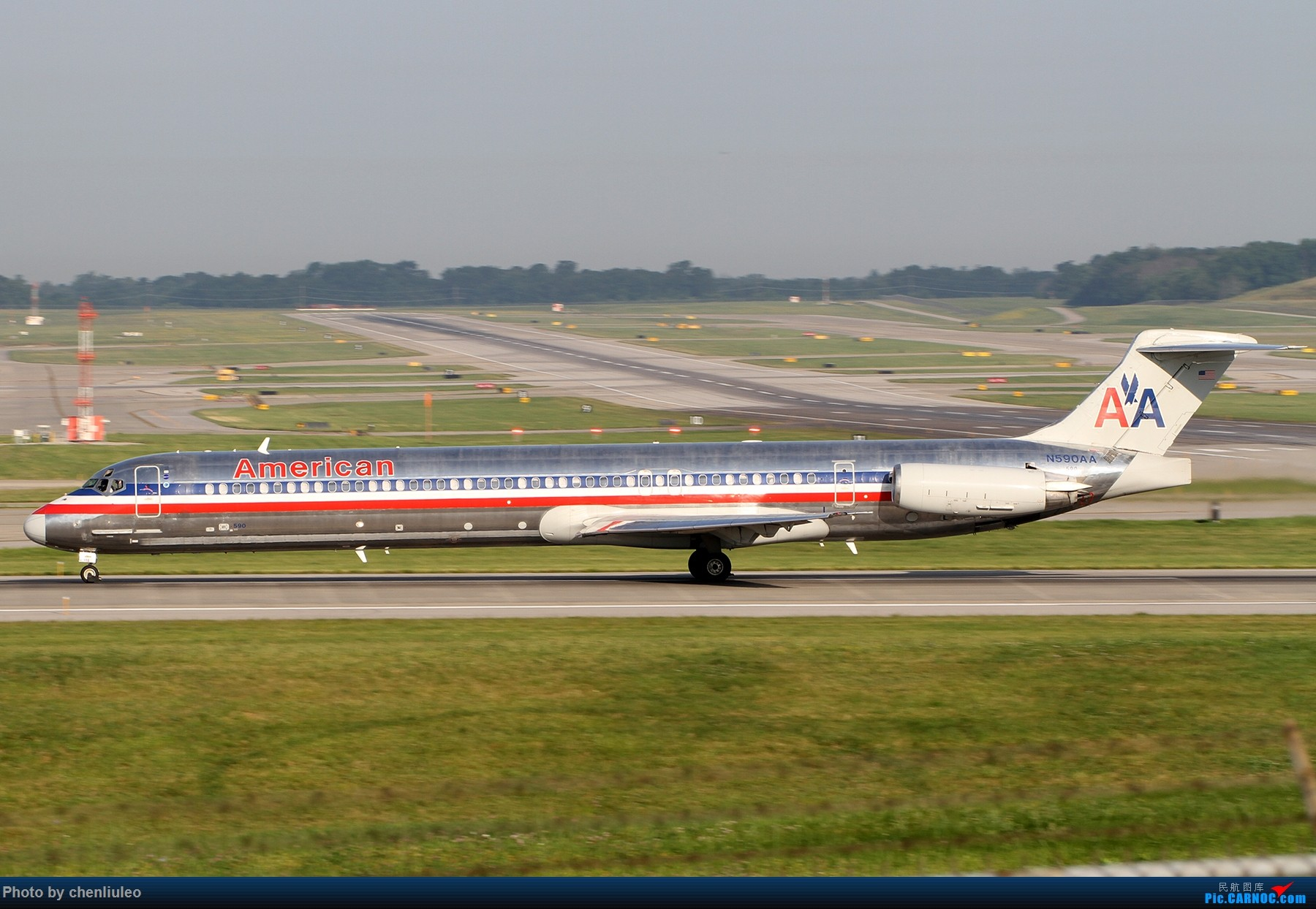 Re:[原创]【北美飞友会】辛辛那提北肯塔基国际机场 货机的天堂 MD MD-80-83 N590AA 美国辛辛那提-北肯塔基国际机场