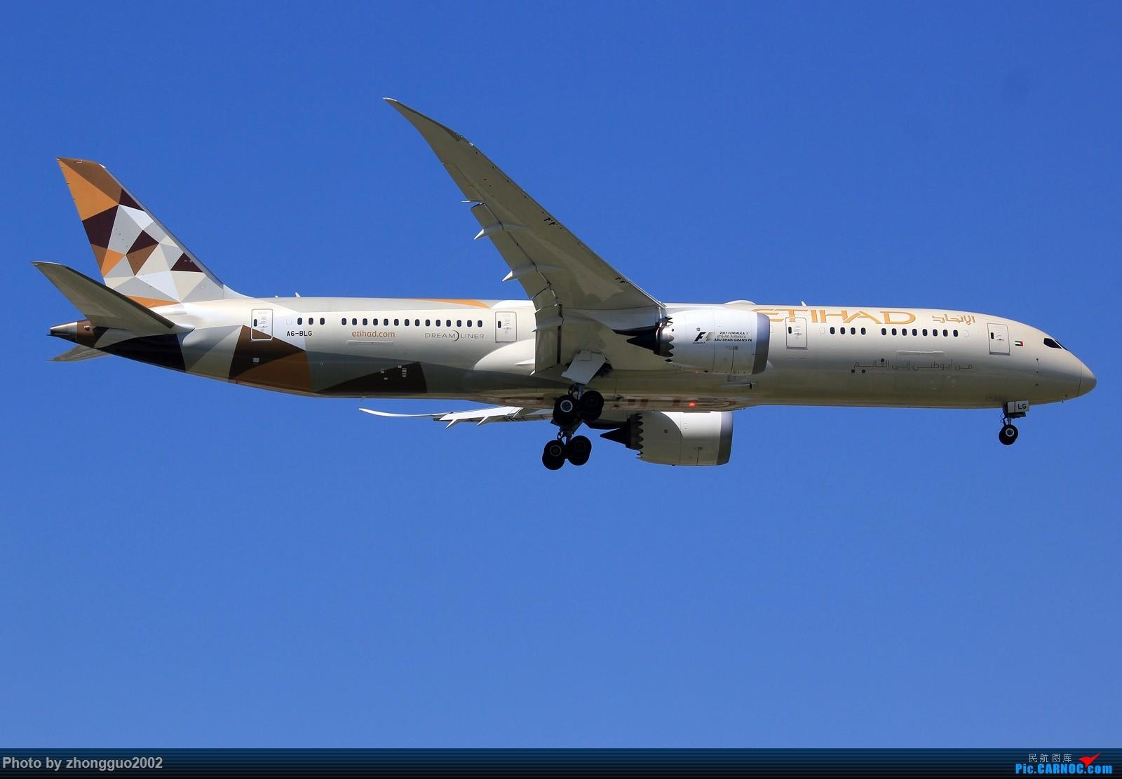 [原创]阿提哈德--789 BOEING 787-9  中国北京首都国际机场