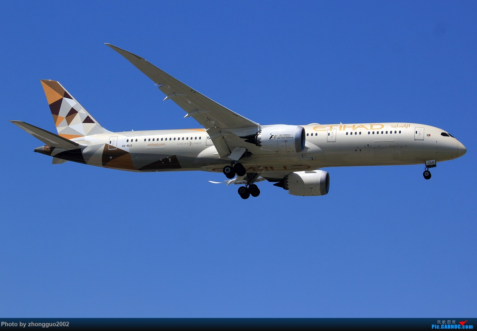 Re:[原创]阿提哈德--789 787-9  中国北京首都国际机场