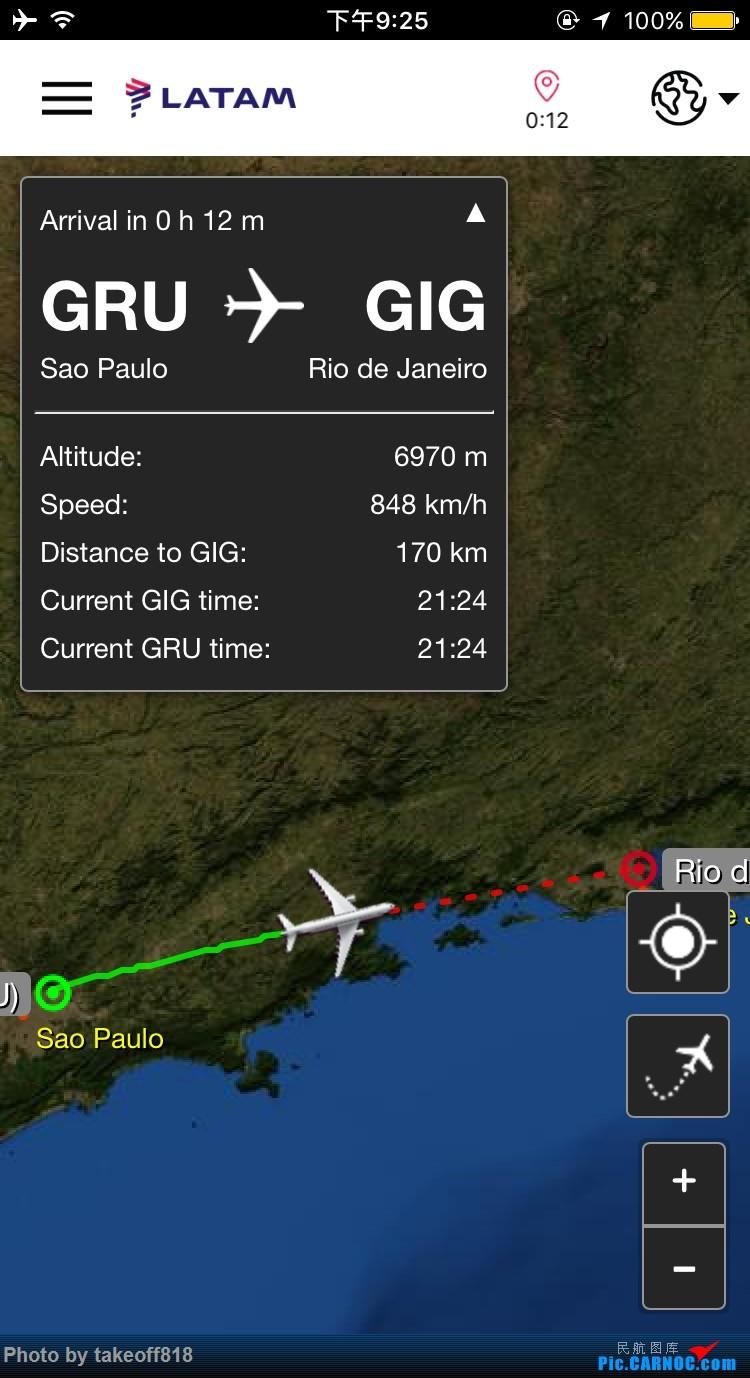 Re:[原创]南美自由行,长游记Part4, 767圣保罗恶劣天气复飞,里约沙滩度假之旅,LH返程别南美。LIM-GRU-GIG, GRU-FRA-MAN