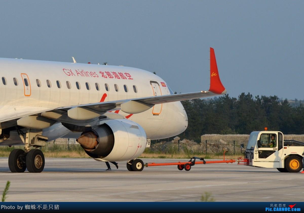 Re:[原创]十堰武当山机场 少见的还在坚守的运-5以及一些杂图 EMBRAER E-190 B-3178 中国十堰武当山机场