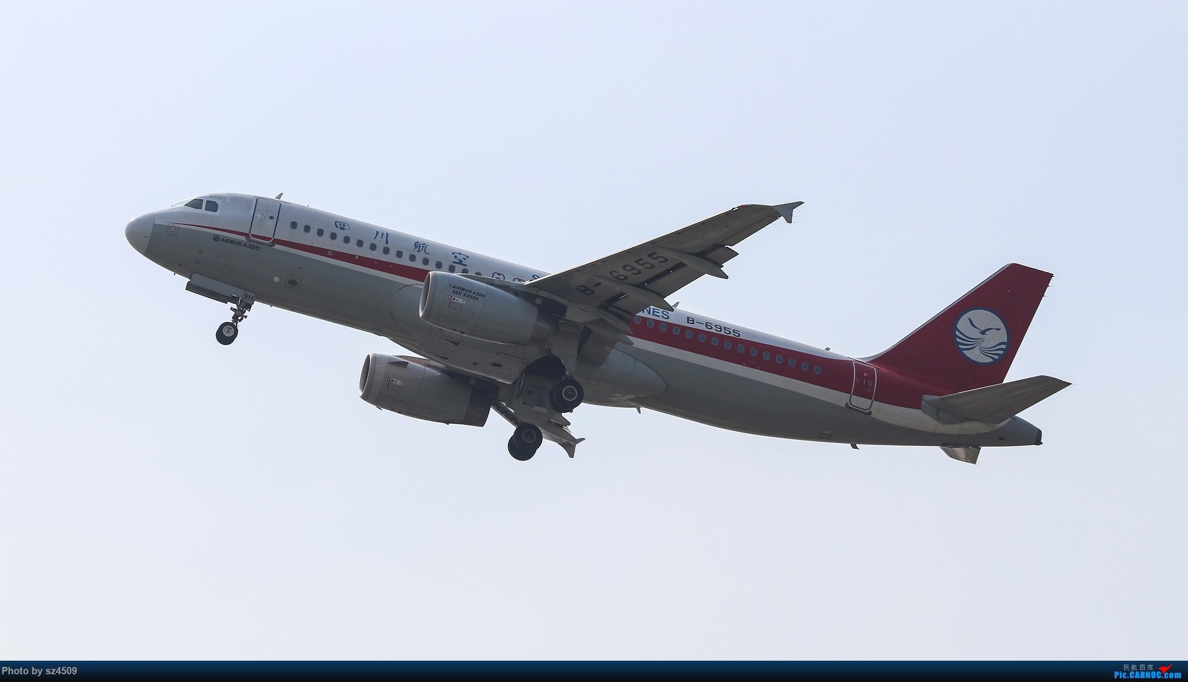 Re:[原创]CTU高温下的拍机 AIRBUS A320-200 B-6955 中国成都双流国际机场