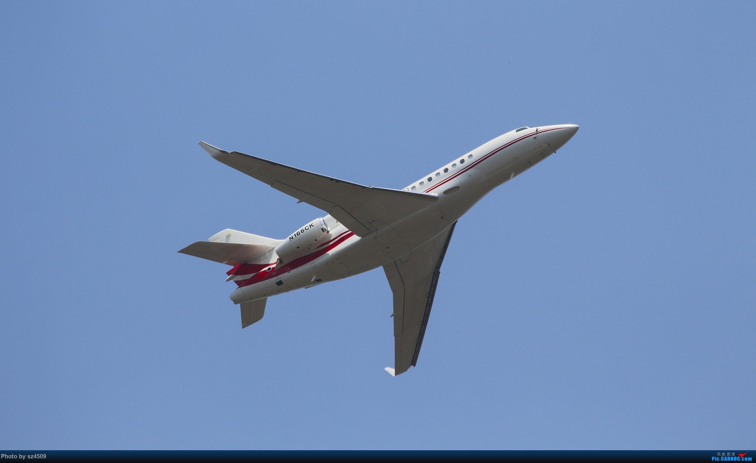 Re:[原创]CTU高温下的拍机 DASSAULT FALCON 7X N166CK 中国成都双流国际机场