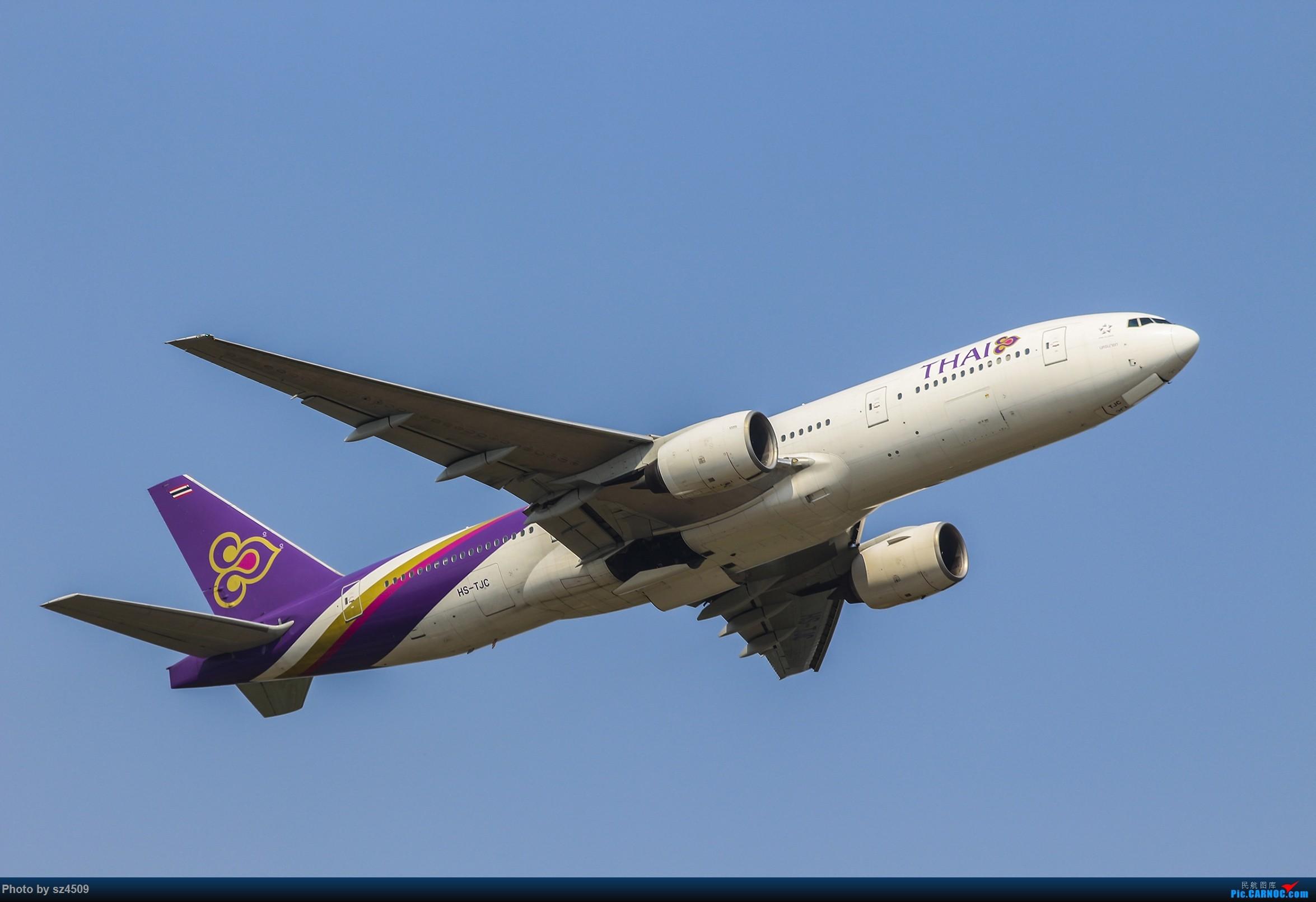 Re:[原创]CTU高温下的拍机 BOEING 777-200 HS-TJC 中国成都双流国际机场