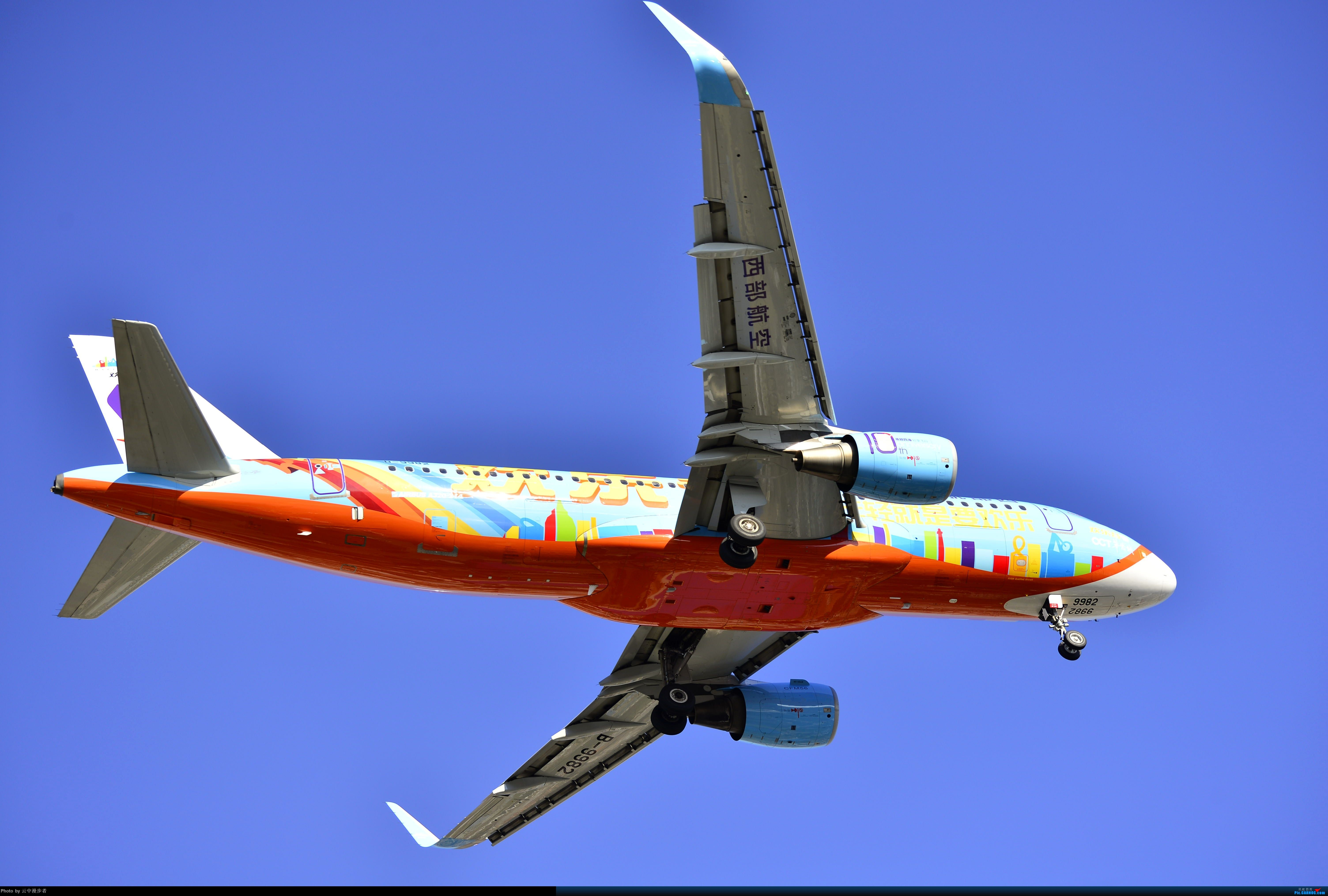 Re:[原创]欢乐的天空 AIRBUS A320-200 B-9982 中国泉州晋江国际机场