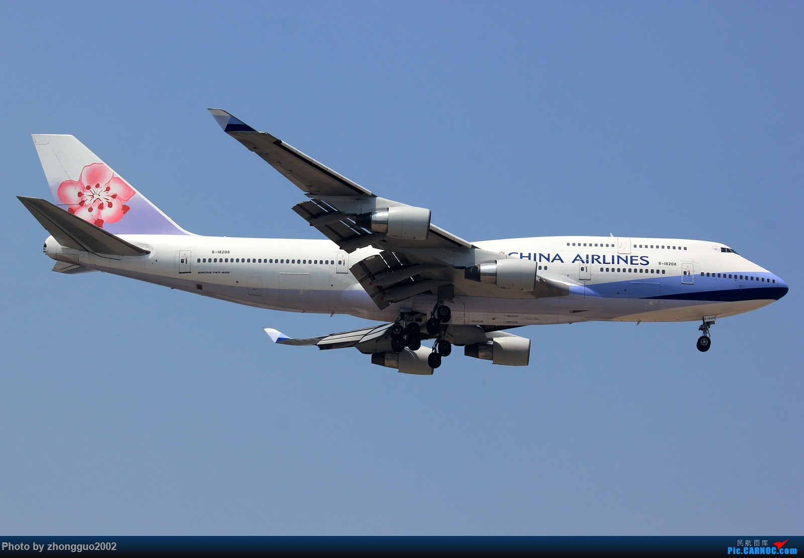 Re:[原创]土库曼斯坦777-200LR BOEING 747-400 B-18208 中国北京首都国际机场