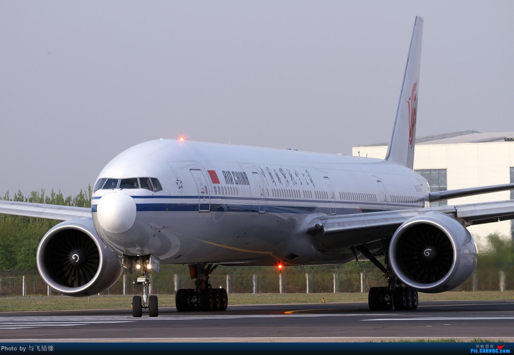 [原创]中国国际航空公司Boeing 777-300ER,B-2043特写组照! BOEING 777-300ER B-2043 中国北京首都国际机场