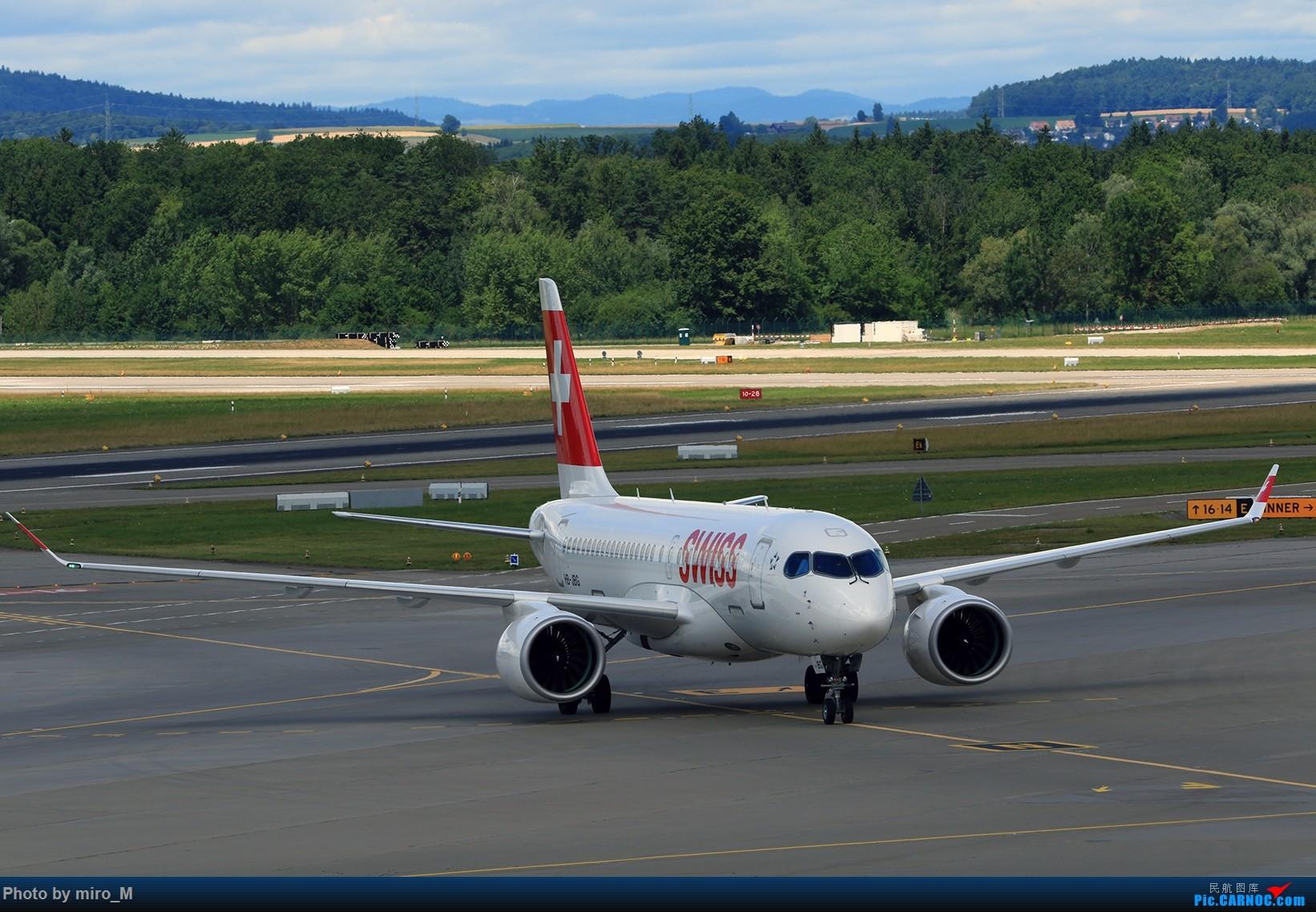 Re:[原创]欧洲浪了一圈,CS100,BAE146,fokker70等新老机型串着飞+ZRH,MUC,FRA,AMS,TLS拍机 BOMBARDIER CS-100 HB-JBG ZRH