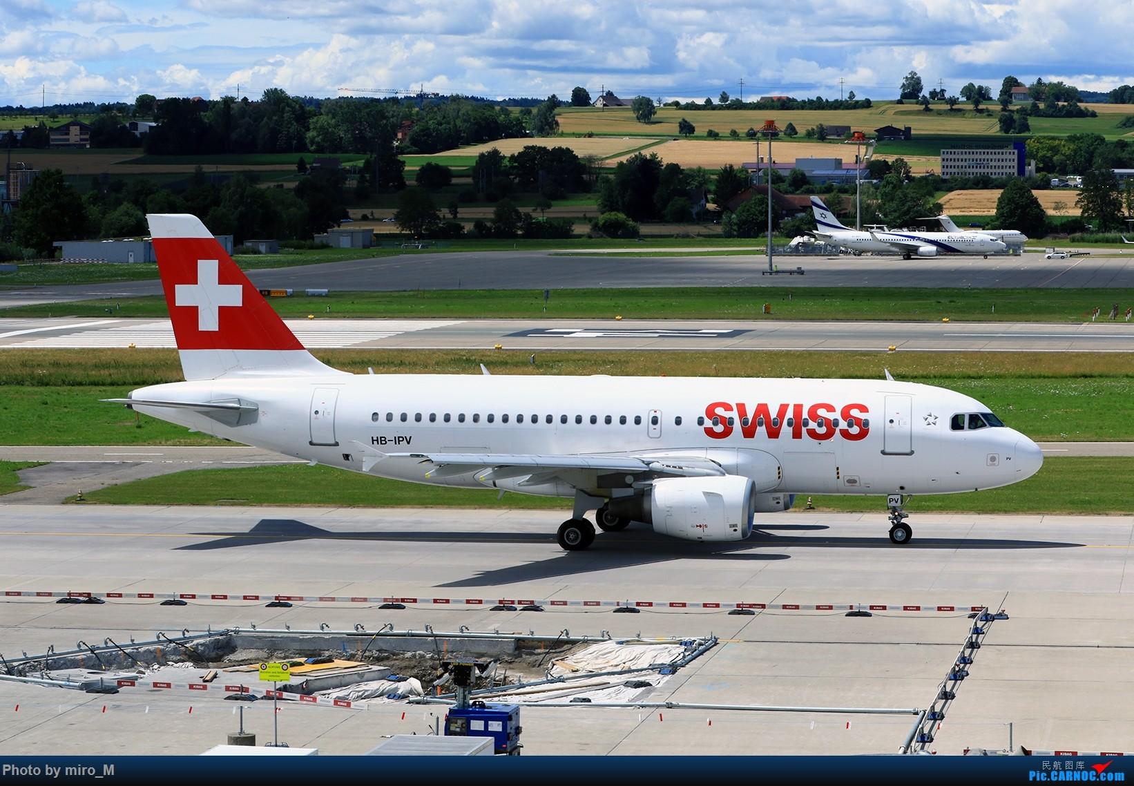 Re:[原创]欧洲浪了一圈,CS100,BAE146,fokker70等新老机型串着飞+ZRH,MUC,FRA,AMS,TLS拍机 AIRBUS A319-100 HB-IPV ZRH