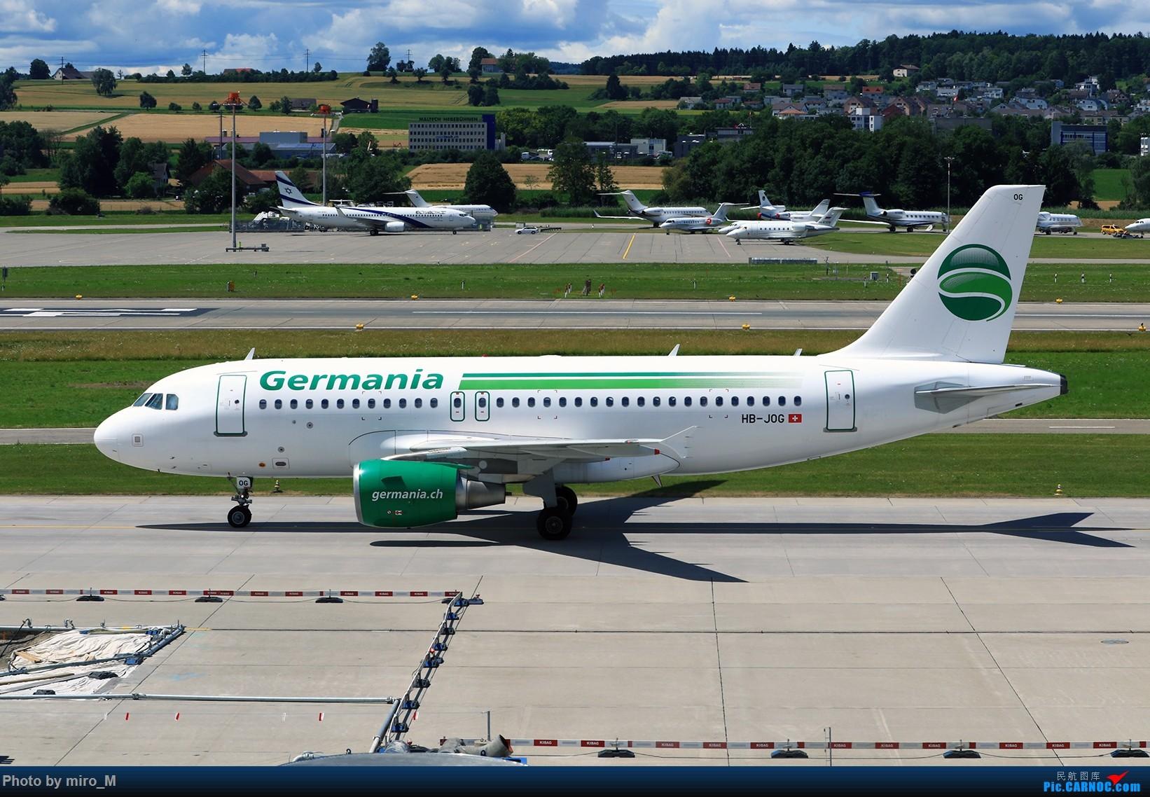 Re:[原创]欧洲浪了一圈,CS100,BAE146,fokker70等新老机型串着飞+ZRH,MUC,FRA,AMS,TLS拍机 AIRBUS A320-200 HB-JOG ZRH