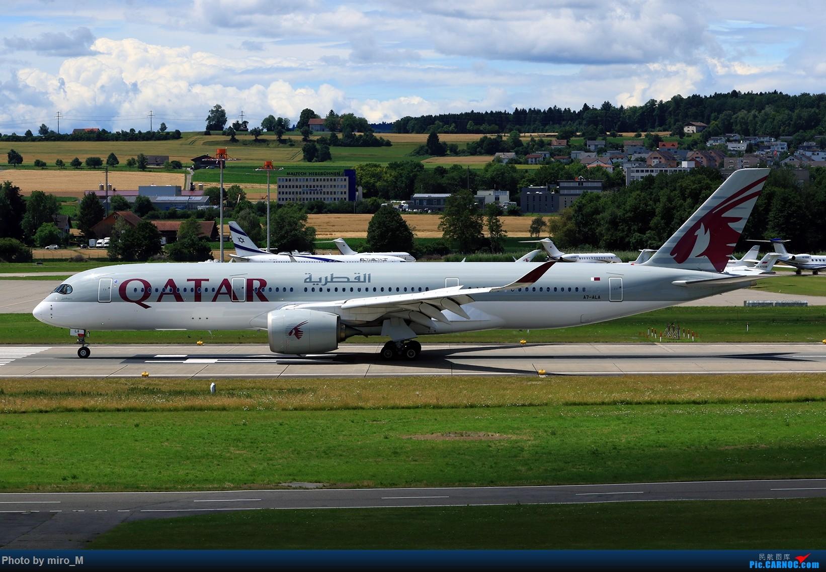 Re:[原创]欧洲浪了一圈,CS100,BAE146,fokker70等新老机型串着飞+ZRH,MUC,FRA,AMS,TLS拍机 AIRBUS A350-900 A7-ALA ZRH