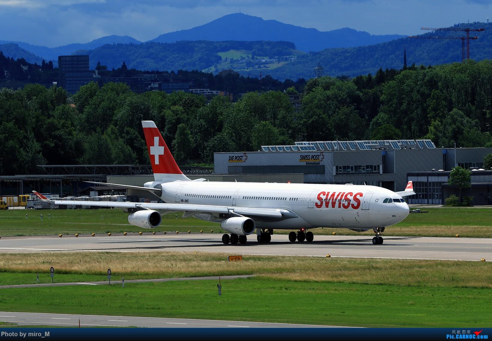 Re:[原创]欧洲浪了一圈,CS100,BAE146,fokker70等新老机型串着飞+ZRH,MUC,FRA,AMS,TLS拍机 AIRBUS A340-300 HB-JMC ZRH
