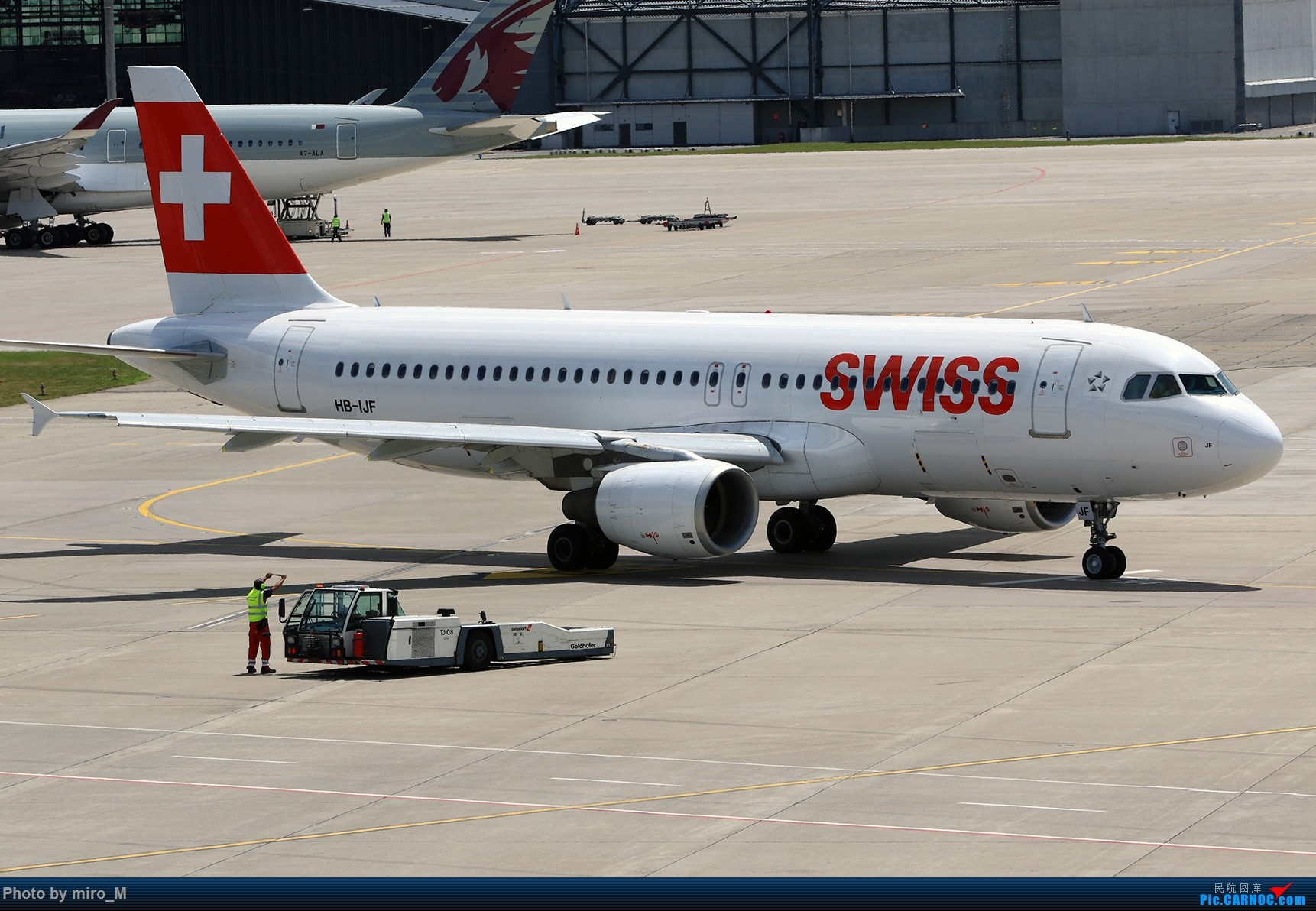 Re:[原创]欧洲浪了一圈,CS100,BAE146,fokker70等新老机型串着飞+ZRH,MUC,FRA,AMS,TLS拍机 AIRBUS A320-200 HB-IJF ZRH