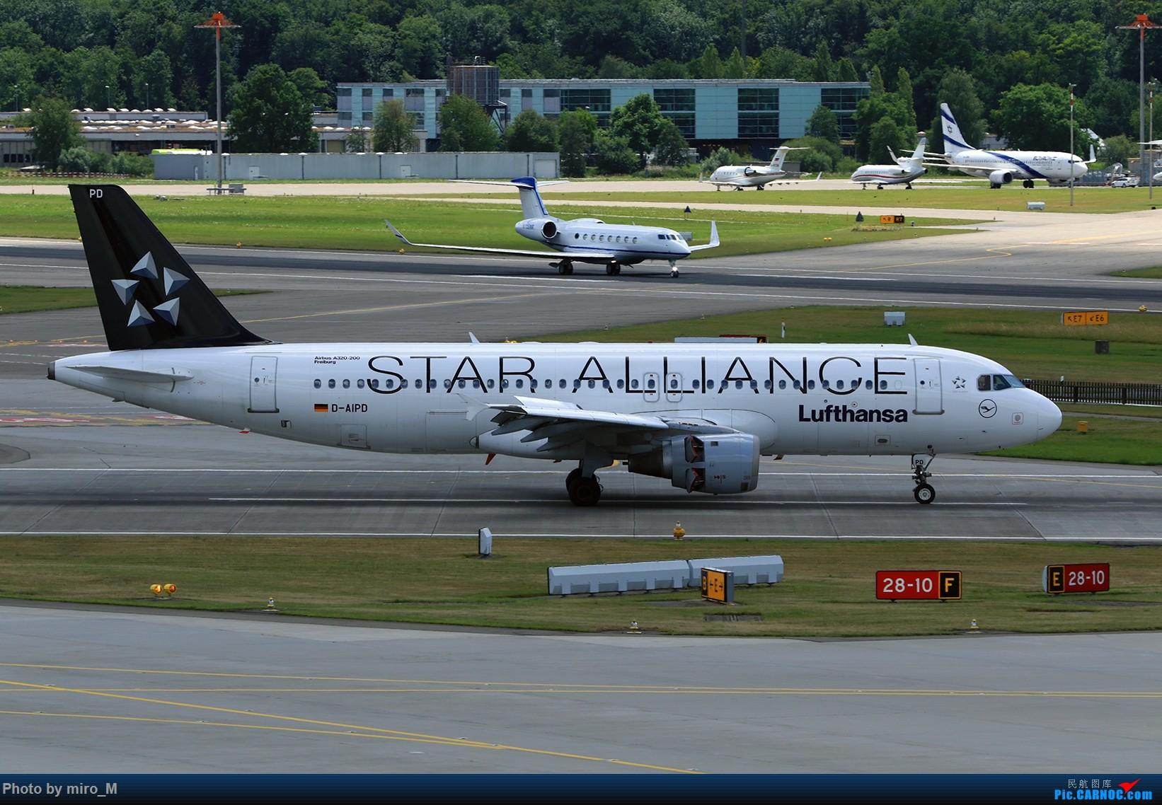 Re:[原创]欧洲浪了一圈,CS100,BAE146,fokker70等新老机型串着飞+ZRH,MUC,FRA,AMS,TLS拍机 AIRBUS A320-200 D-AIPD ZRH