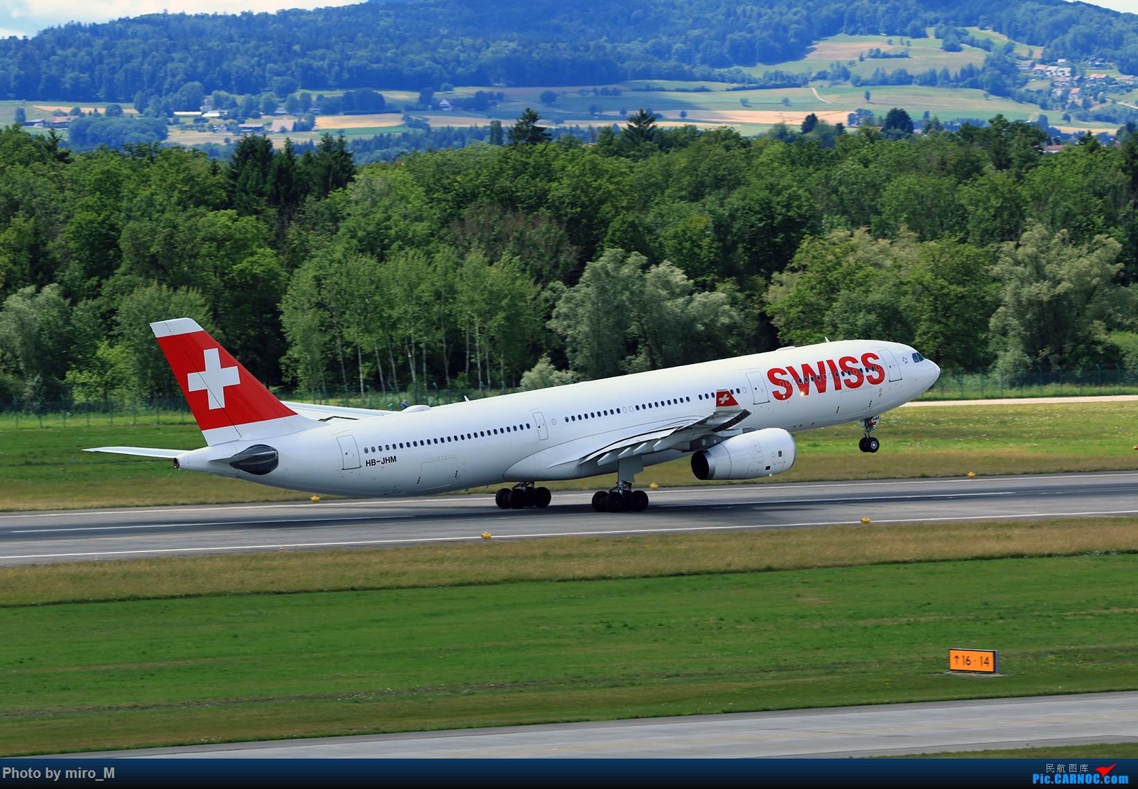 Re:[原创]欧洲浪了一圈,CS100,BAE146,fokker70等新老机型串着飞+ZRH,MUC,FRA,AMS,TLS拍机 AIRBUS A330-300 HB-JHM ZRH