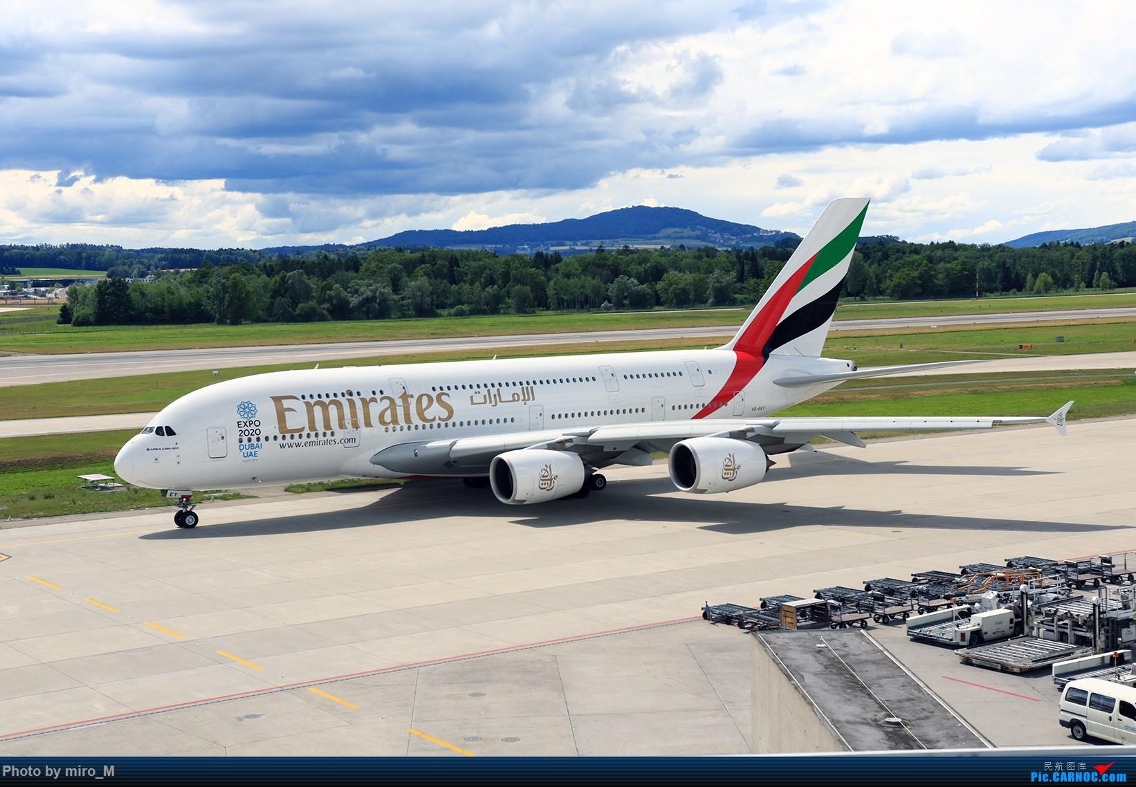 Re:[原创]欧洲浪了一圈,CS100,BAE146,fokker70等新老机型串着飞+ZRH,MUC,FRA,AMS,TLS拍机 AIRBUS A380-800 A6-EEY ZRH