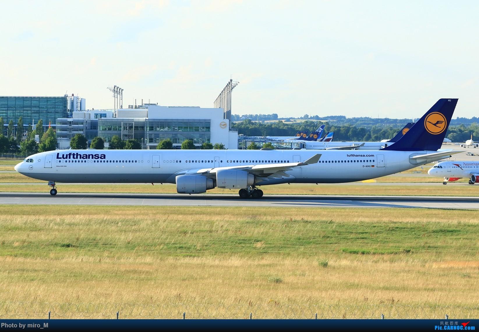 Re:[原创]欧洲浪了一圈,CS100,BAE146,fokker70等新老机型串着飞+ZRH,MUC,FRA,AMS,TLS拍机 AIRBUS A340-600 D-AIHU MUC