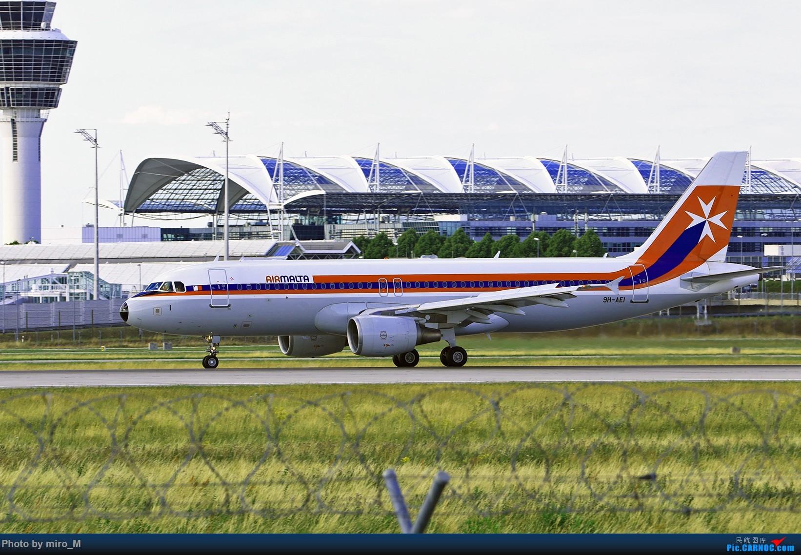Re:[原创]欧洲浪了一圈,CS100,BAE146,fokker70等新老机型串着飞+ZRH,MUC,FRA,AMS,TLS拍机 AIRBUS A320-200 9H-AEI MUC