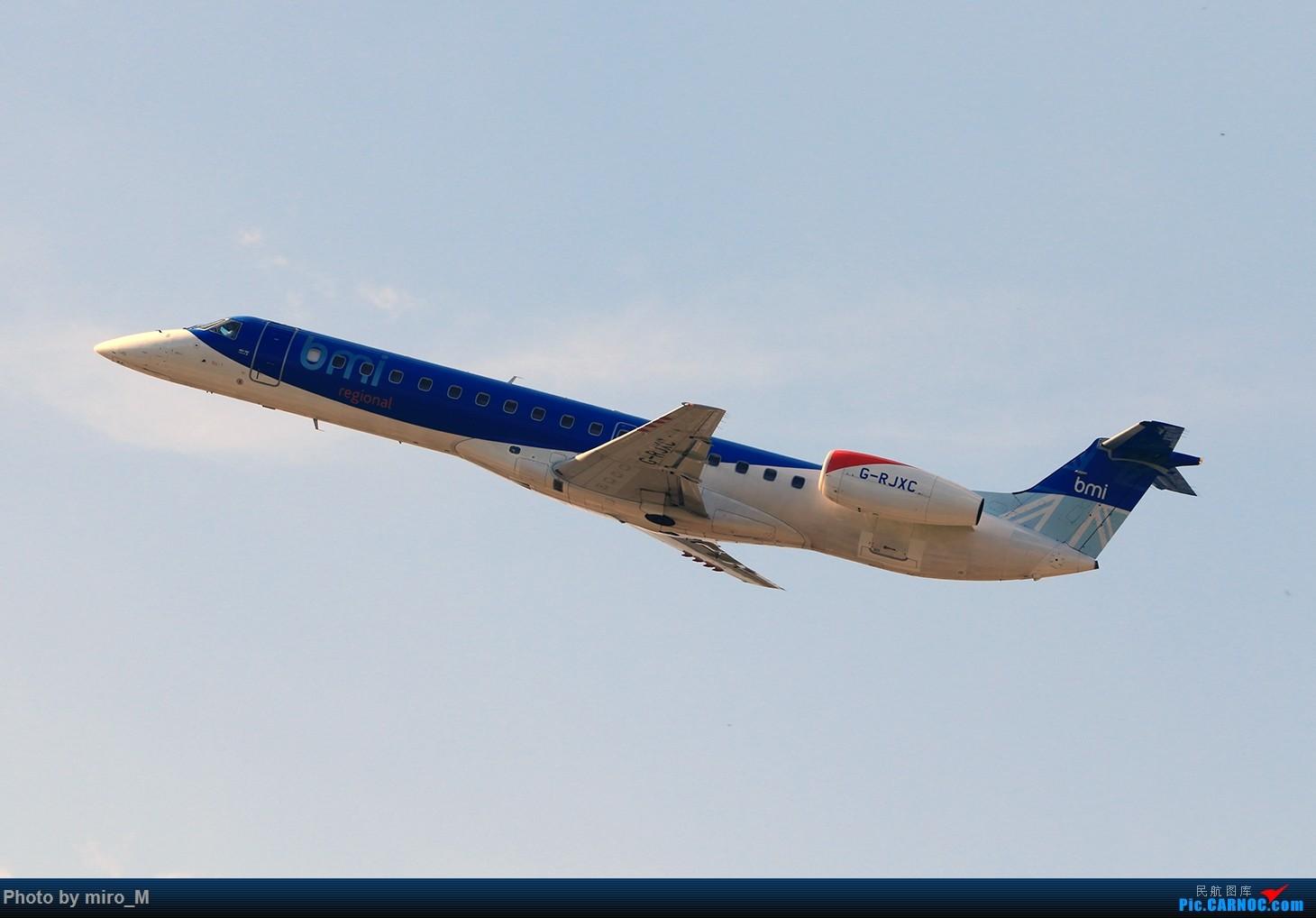 Re:[原创]欧洲浪了一圈,CS100,BAE146,fokker70等新老机型串着飞+ZRH,MUC,FRA,AMS,TLS拍机 EMBRAER ERJ-145 G-RJXC MUC
