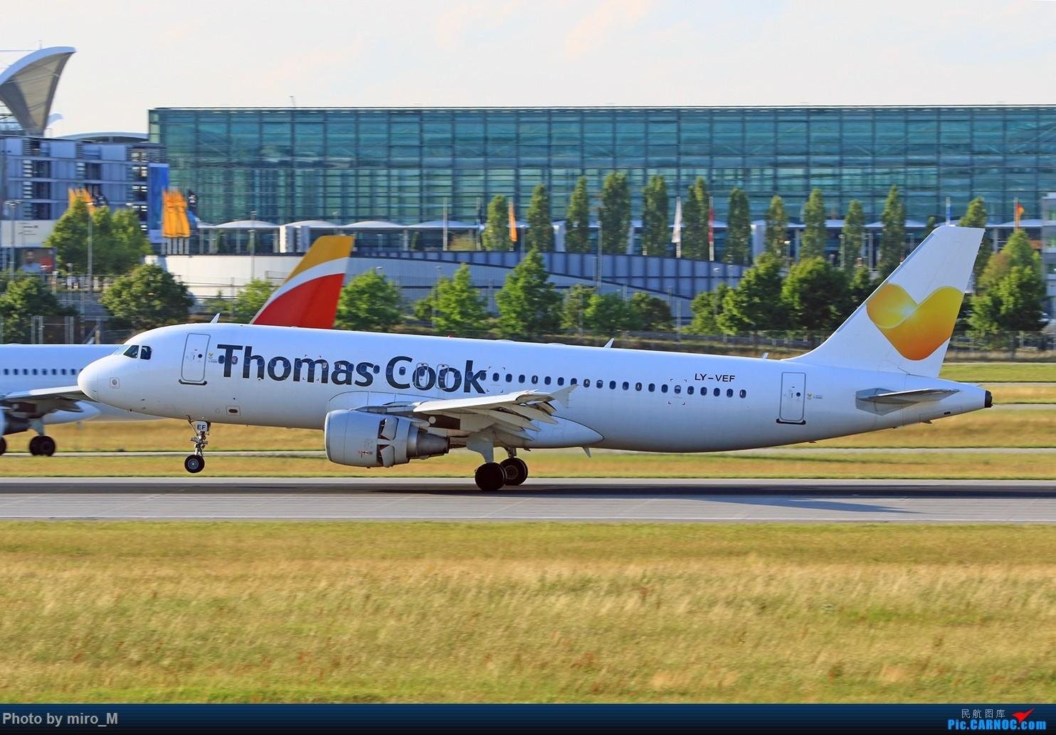 Re:[原创]欧洲浪了一圈,CS100,BAE146,fokker70等新老机型串着飞+ZRH,MUC,FRA,AMS,TLS拍机 AIRBUS A320-200 KY-VEF MUC