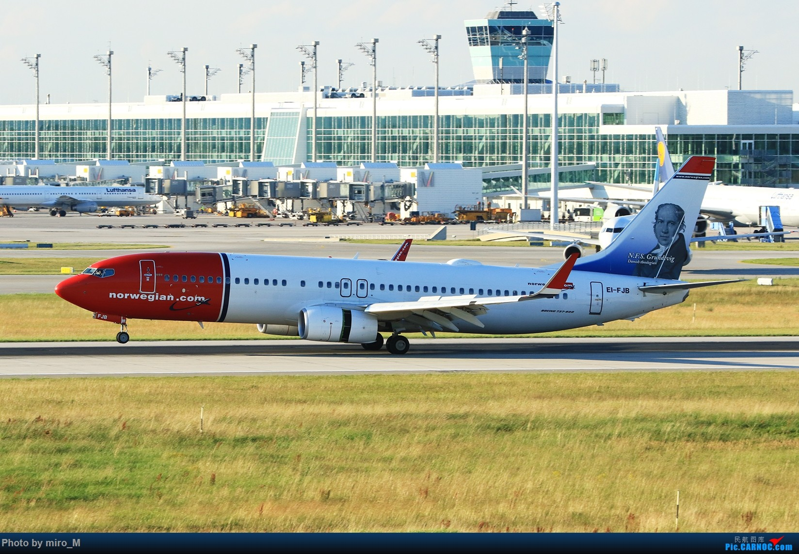Re:[原创]欧洲浪了一圈,CS100,BAE146,fokker70等新老机型串着飞+ZRH,MUC,FRA,AMS,TLS拍机 BOEING 737-800 EI-FJB MUC
