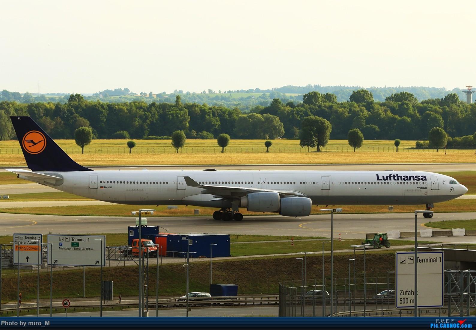 Re:[原创]欧洲浪了一圈,CS100,BAE146,fokker70等新老机型串着飞+ZRH,MUC,FRA,AMS,TLS拍机 AIRBUS A340-600 D-AIHL MUC