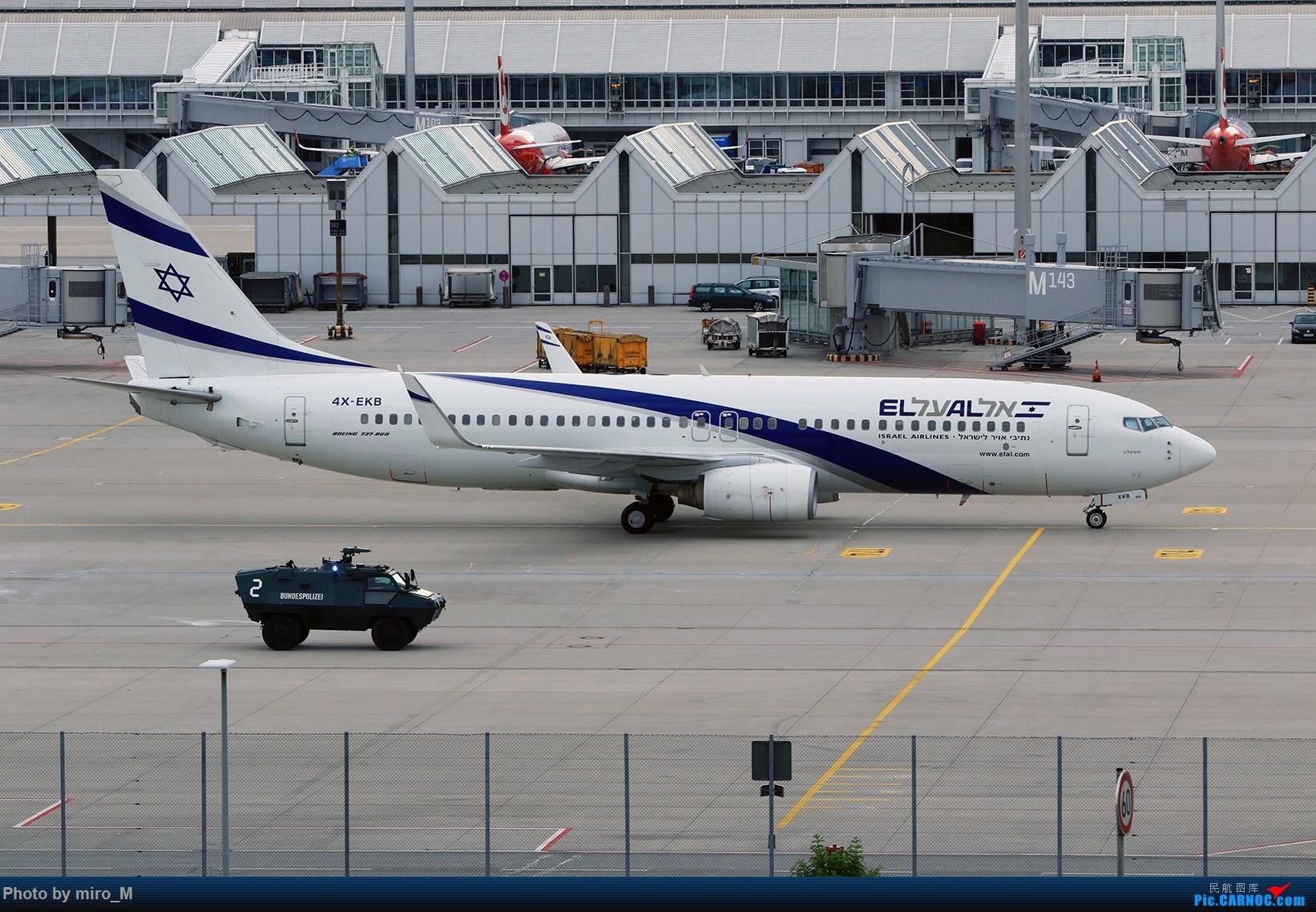 Re:[原创]欧洲浪了一圈,CS100,BAE146,fokker70等新老机型串着飞+ZRH,MUC,FRA,AMS,TLS拍机 BOEING 737-800 4X-EKB MUC