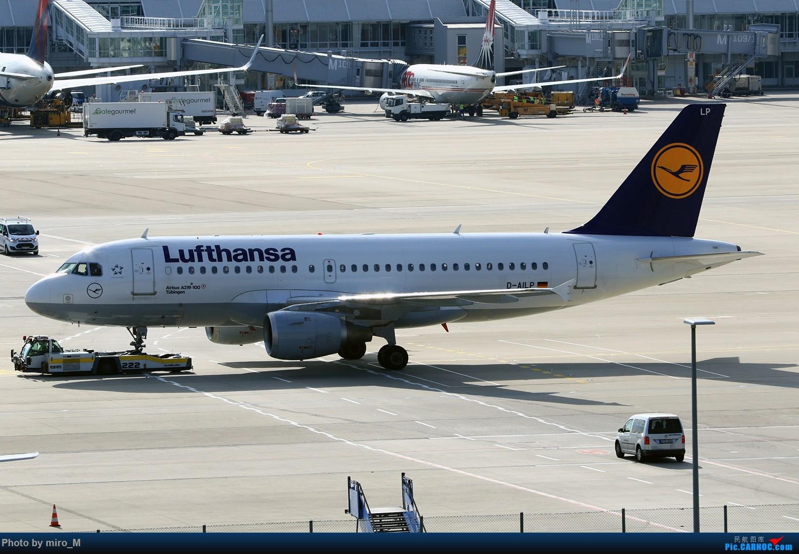 Re:[原创]欧洲浪了一圈,CS100,BAE146,fokker70等新老机型串着飞+ZRH,MUC,FRA,AMS,TLS拍机 AIRBUS A319-100 D-AILP MUC