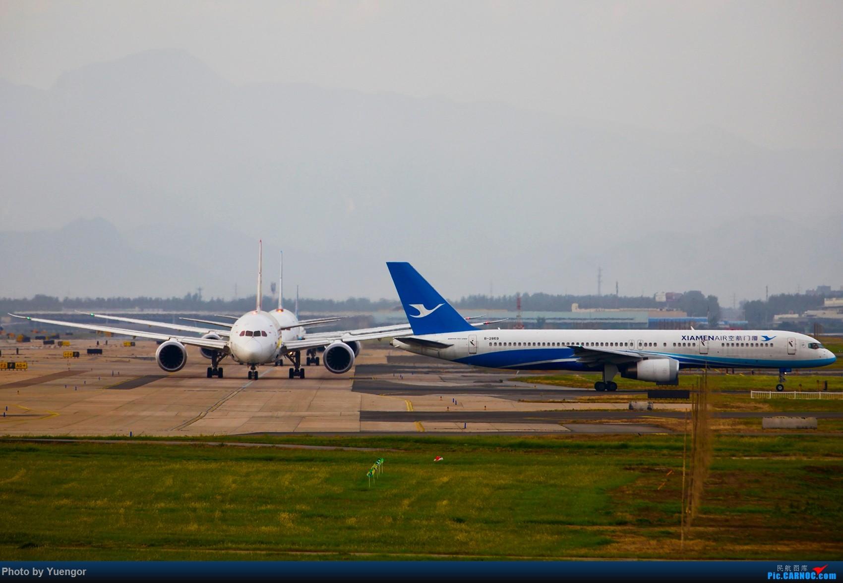 Re:[原创]【兰州飞友会】08.2016 LHW-PEK-AUH-MSQ 暑期返村 BOEING 757-200 B-2869 中国北京首都国际机场