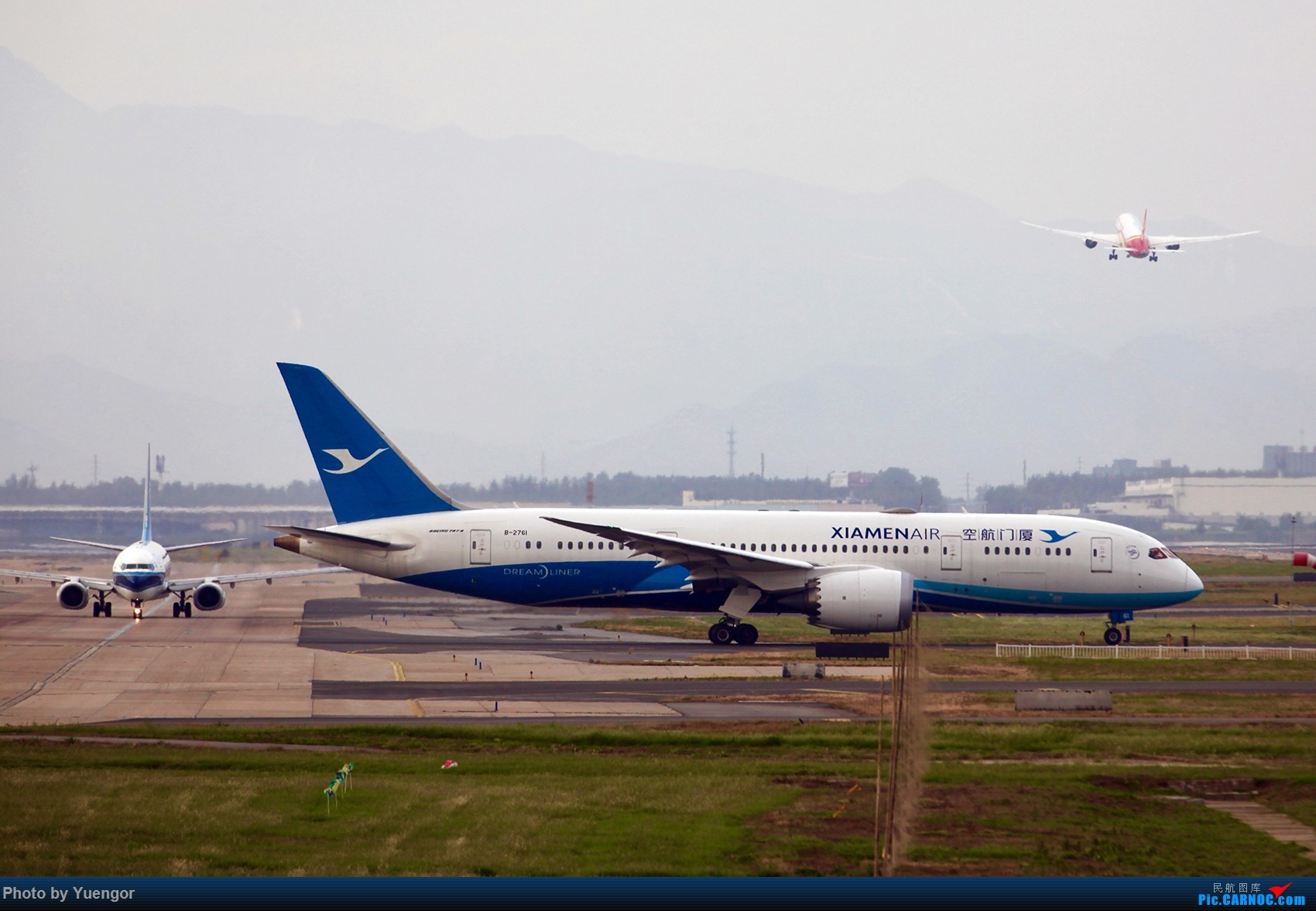Re:[原创]【兰州飞友会】08.2016 LHW-PEK-AUH-MSQ 暑期返村 BOEING 787-8 B-2761 中国北京首都国际机场