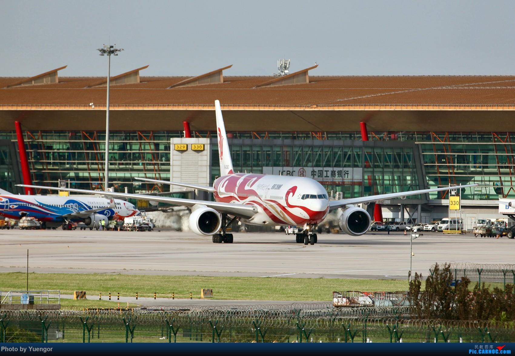 Re:[原创]【兰州飞友会】08.2016 LHW-PEK-AUH-MSQ 暑期返村 BOEING 777-200 B-2060 中国北京首都国际机场