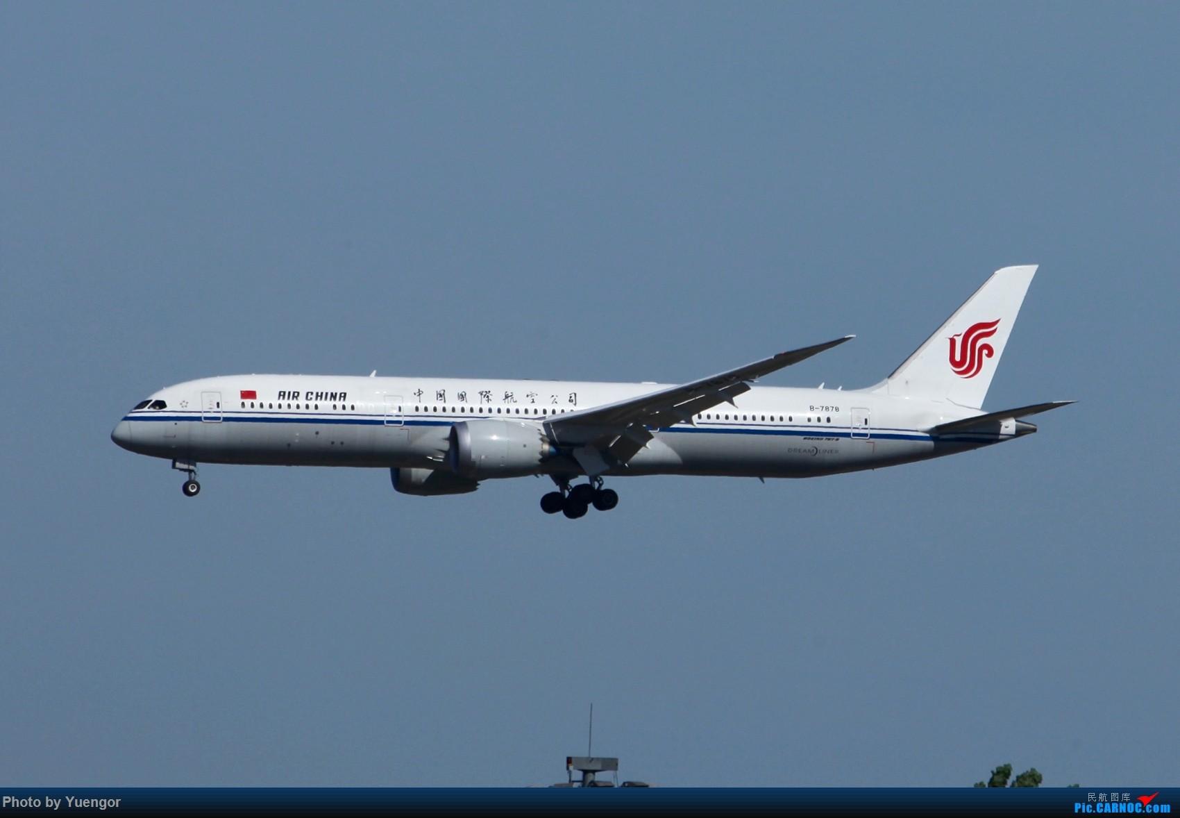 Re:[原创]【兰州飞友会】08.2016 LHW-PEK-AUH-MSQ 暑期返村 BOEING 787-9 B-7878 中国北京首都国际机场