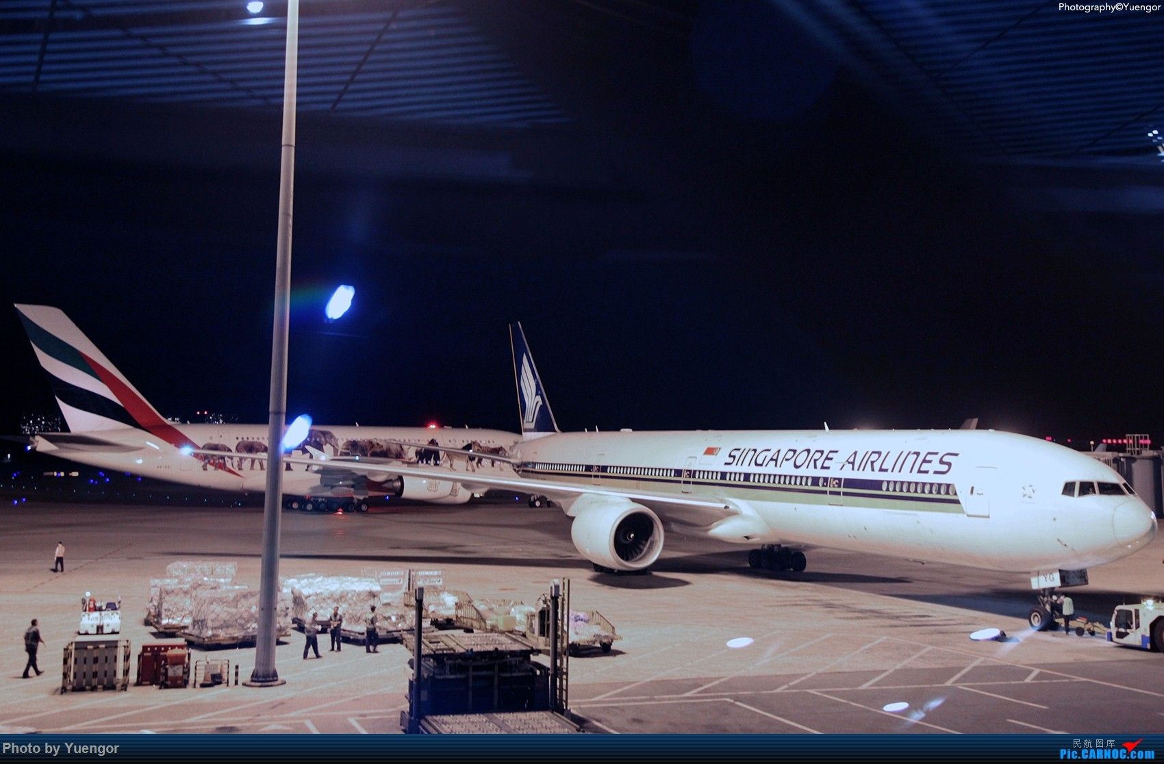 Re:[原创]【兰州飞友会】08.2016 LHW-PEK-AUH-MSQ 暑期返村 BOEING 777-300 9V-SYG 中国北京首都国际机场