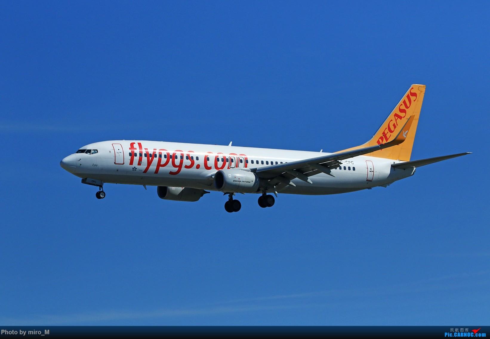 Re:[原创]欧洲浪了一圈,CS100,BAE146,fokker70等新老机型串着飞+ZRH,MUC,FRA,AMS,TLS拍机 BOEING 737-800 TC-CPC FRA