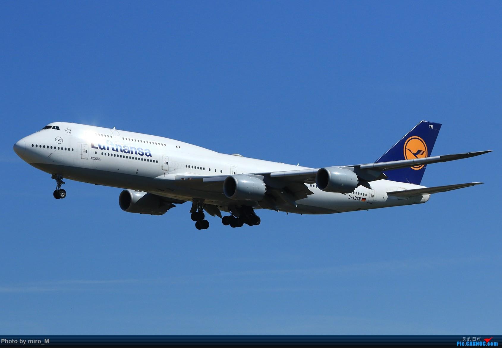 Re:[原创]欧洲浪了一圈,CS100,BAE146,fokker70等新老机型串着飞+ZRH,MUC,FRA,AMS,TLS拍机 BOEING 747-8 D-ABYN FRA