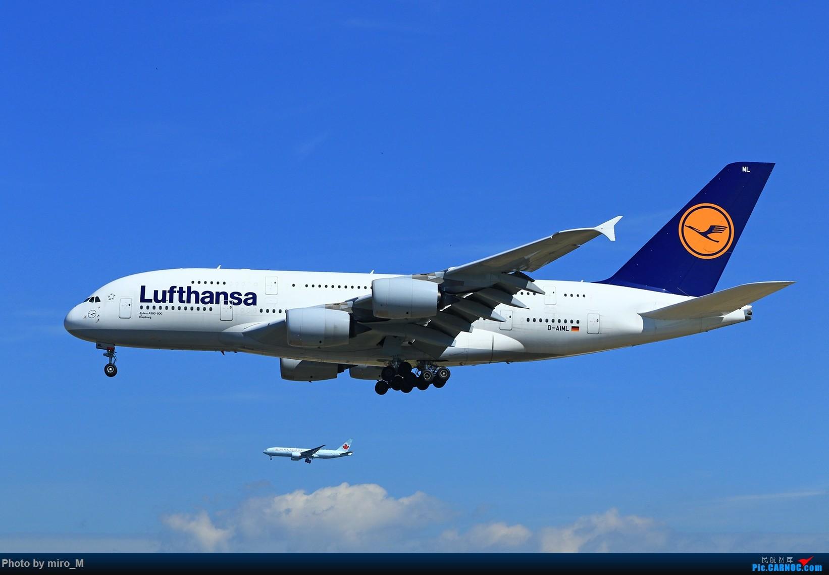 Re:[原创]欧洲浪了一圈,CS100,BAE146,fokker70等新老机型串着飞+ZRH,MUC,FRA,AMS,TLS拍机 AIRBUS A380-800 D-AIML FRA