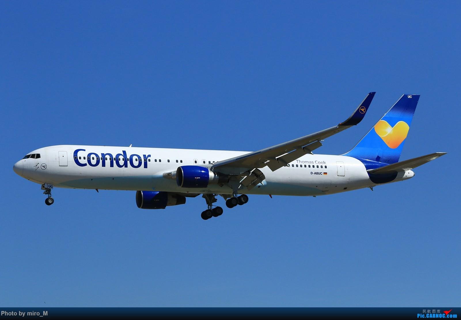Re:[原创]欧洲浪了一圈,CS100,BAE146,fokker70等新老机型串着飞+ZRH,MUC,FRA,AMS,TLS拍机 BOEING 767-300 D-ABUC FRA