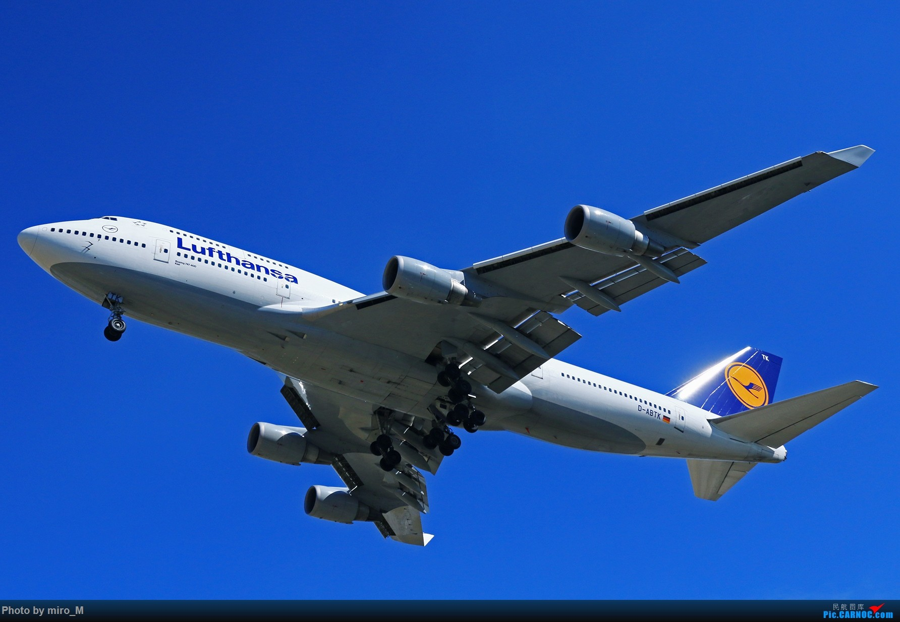 Re:[原创]欧洲浪了一圈,CS100,BAE146,fokker70等新老机型串着飞+ZRH,MUC,FRA,AMS,TLS拍机 BOEING 747-400 D-ABTK FRA