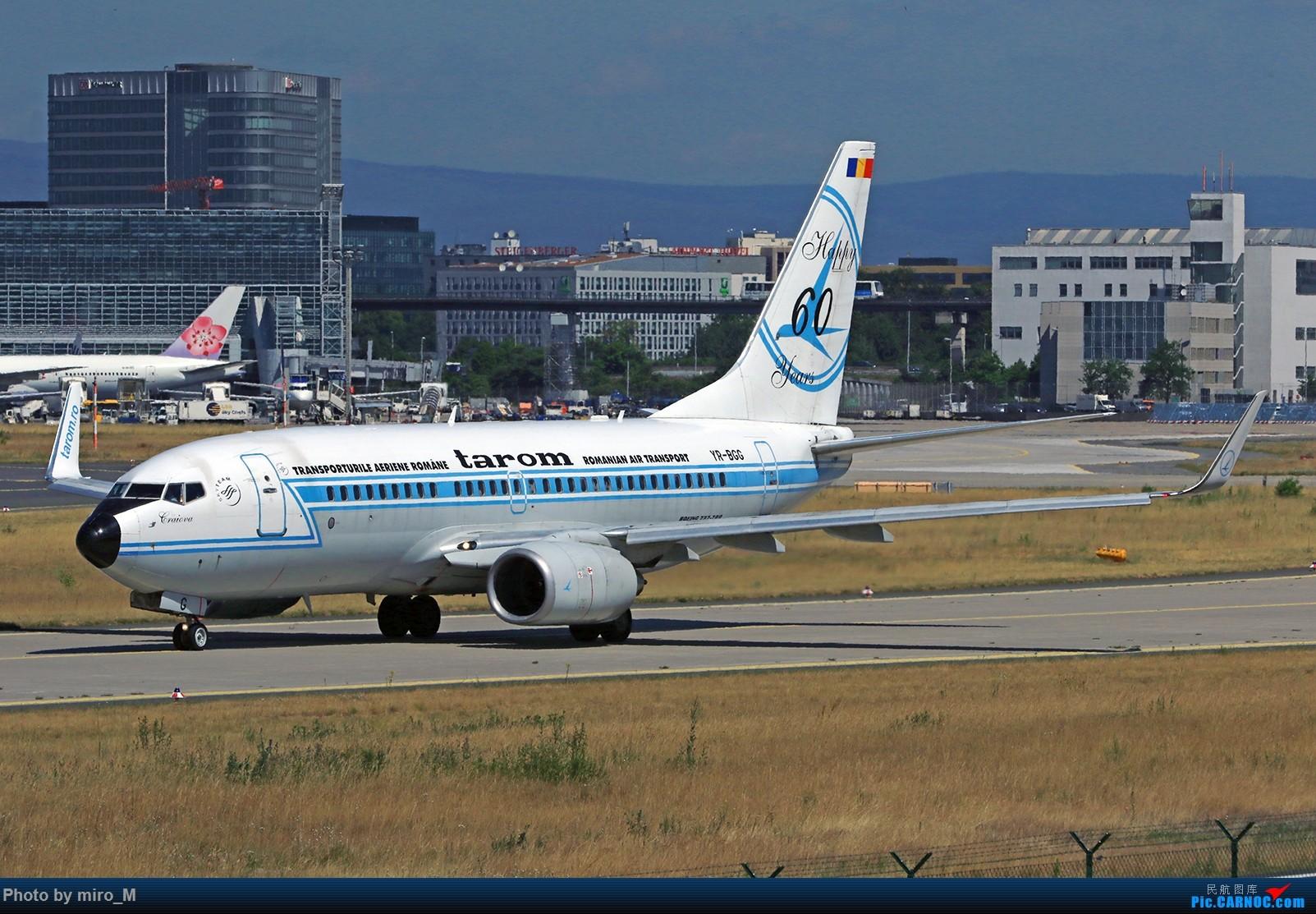 Re:[原创]欧洲浪了一圈,CS100,BAE146,fokker70等新老机型串着飞+ZRH,MUC,FRA,AMS,TLS拍机 BOEING 737-700 YR-BGG FRA