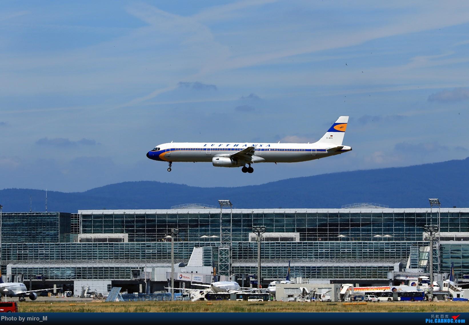 Re:[原创]欧洲浪了一圈,CS100,BAE146,fokker70等新老机型串着飞+ZRH,MUC,FRA,AMS,TLS拍机 AIRBUS A321-200 D-AIDV FRA