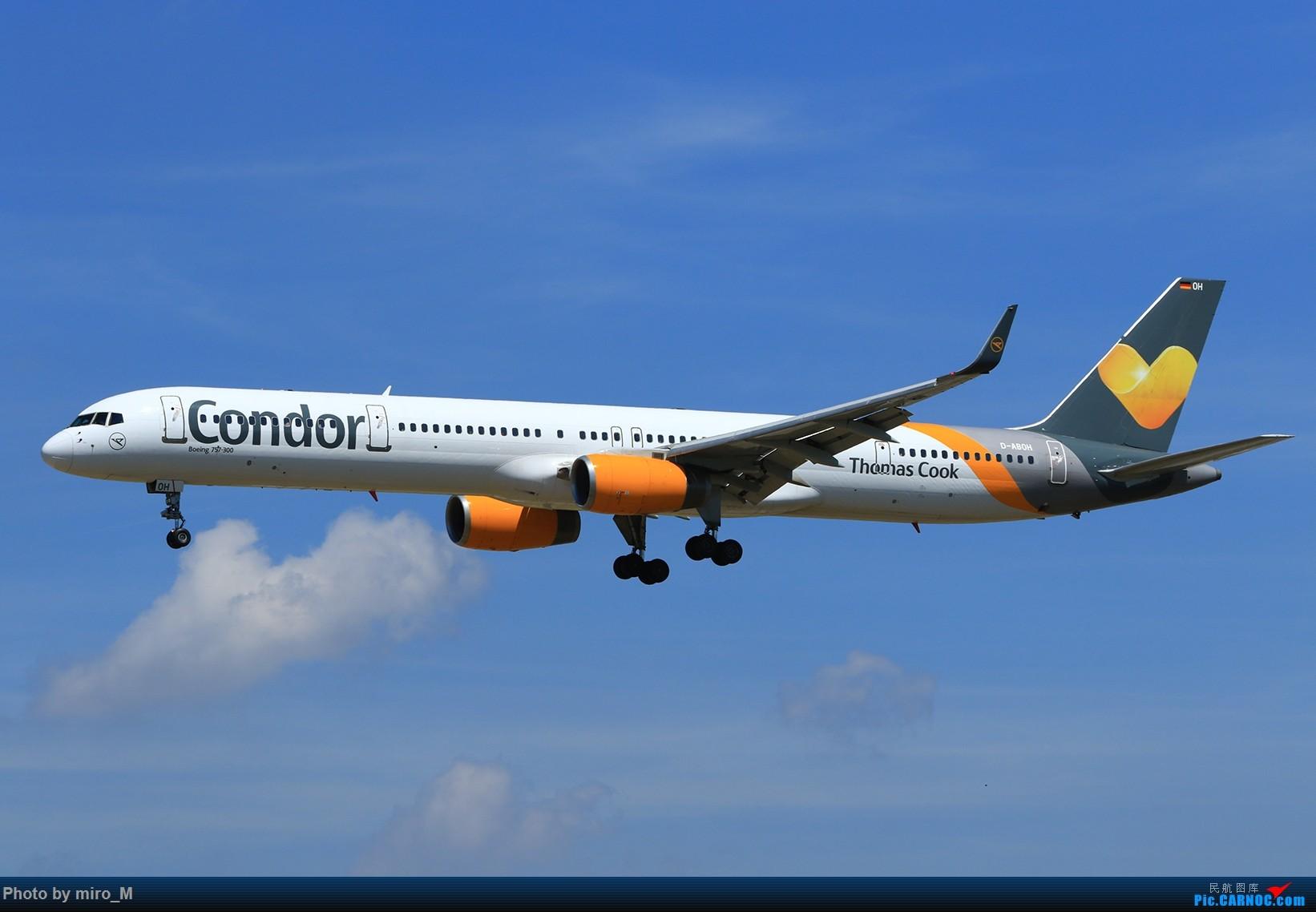 Re:[原创]欧洲浪了一圈,CS100,BAE146,fokker70等新老机型串着飞+ZRH,MUC,FRA,AMS,TLS拍机 BOEING 757-300 D-ABOH FRA