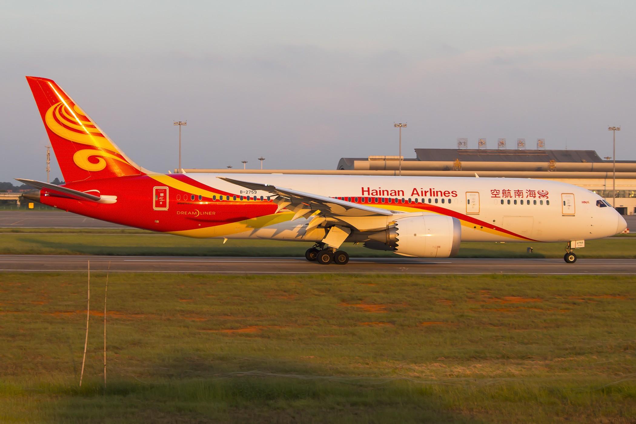 [原创]【南昌飞友会】绝杀788 BOEING 787-8 B-2759 中国南昌昌北国际机场