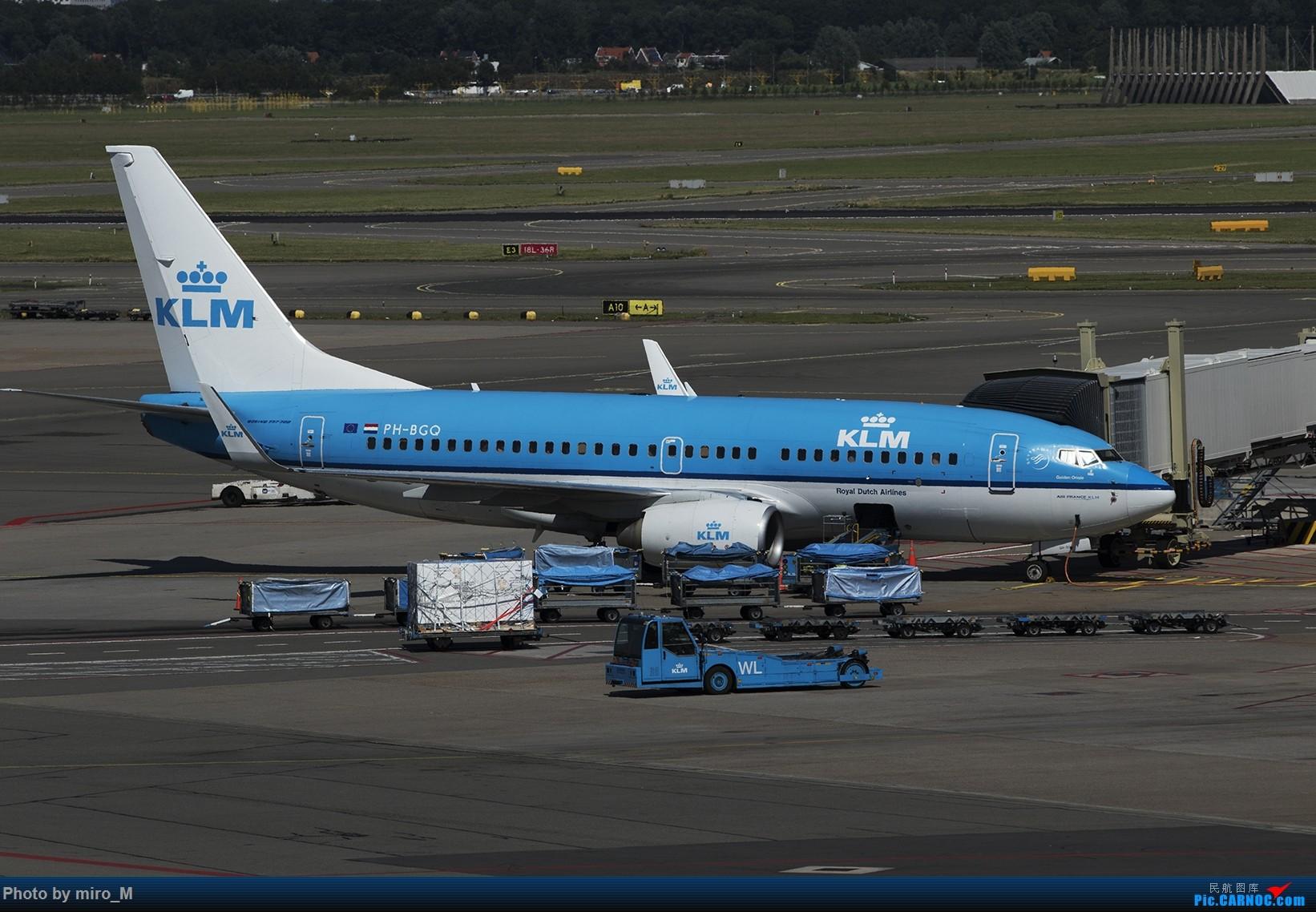 Re:[原创]欧洲浪了一圈,CS100,BAE146,fokker70等新老机型串着飞+ZRH,MUC,FRA,AMS,TLS拍机 BOEING 737-700 PH-BGQ AMS