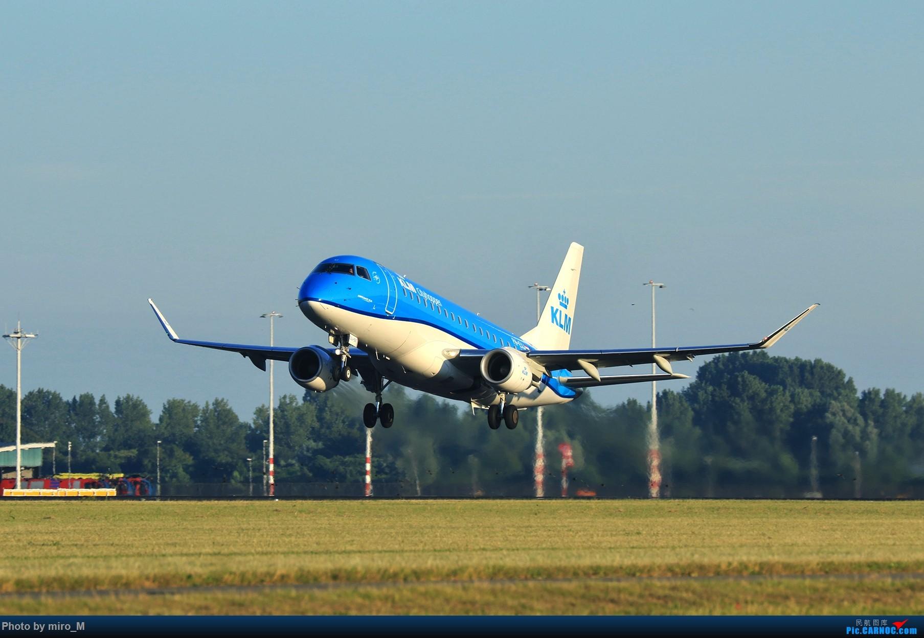 Re:[原创]欧洲小众机型体验之旅,附所到的机场拍机图片(中) EMBRAER E-175  AMS