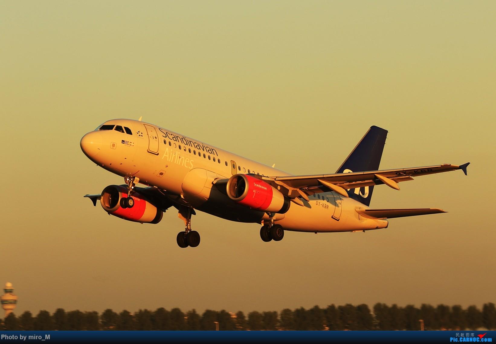 Re:欧洲小众机型体验之旅,附所到的机场拍机图片(中) AIRBUS A319-100 OY-KBR AMS