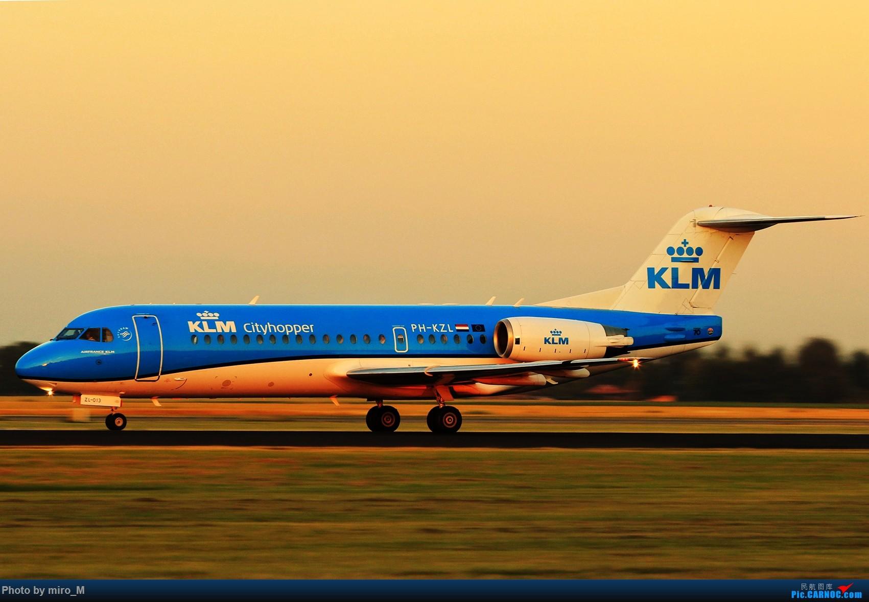 Re:[原创]欧洲小众机型体验之旅,附所到的机场拍机图片(中) FOKKER 70 PH-KZL AMS