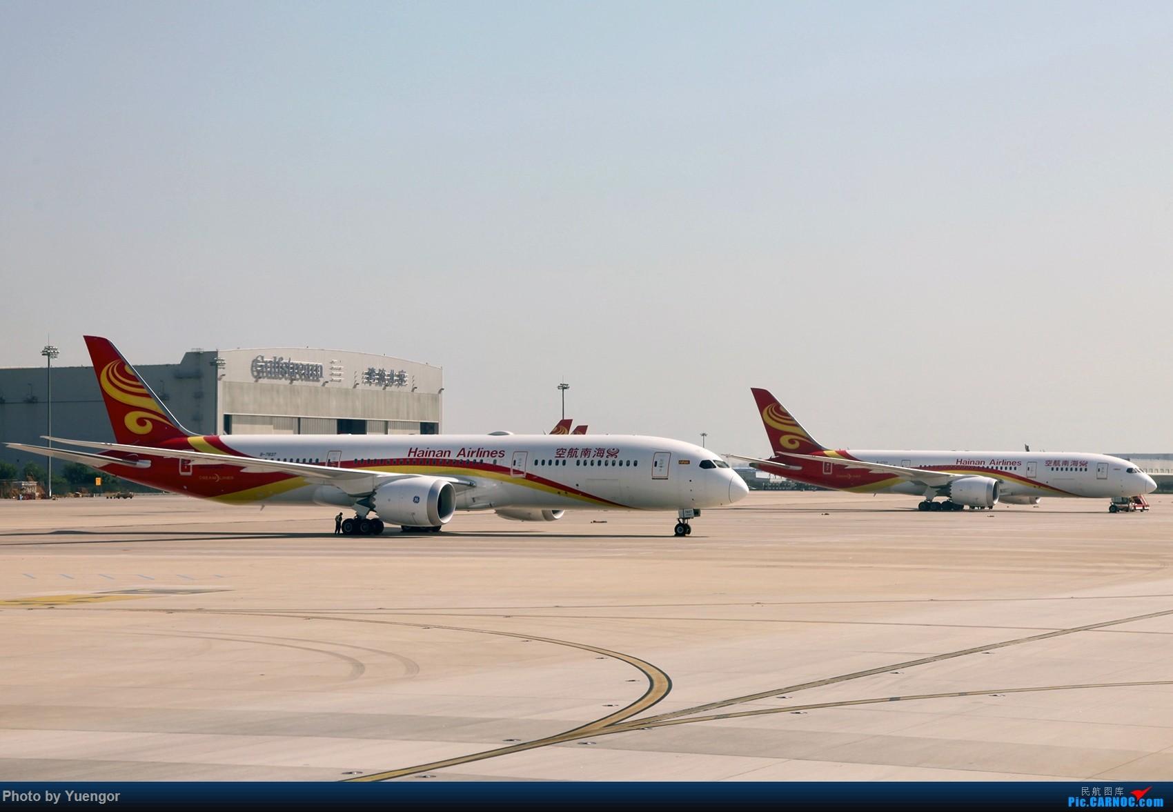 Re:[原创]【兰州飞友会】08.2016 LHW-PEK-AUH-MSQ 暑期返村 BOEING 787-9 B-7837 中国北京首都国际机场