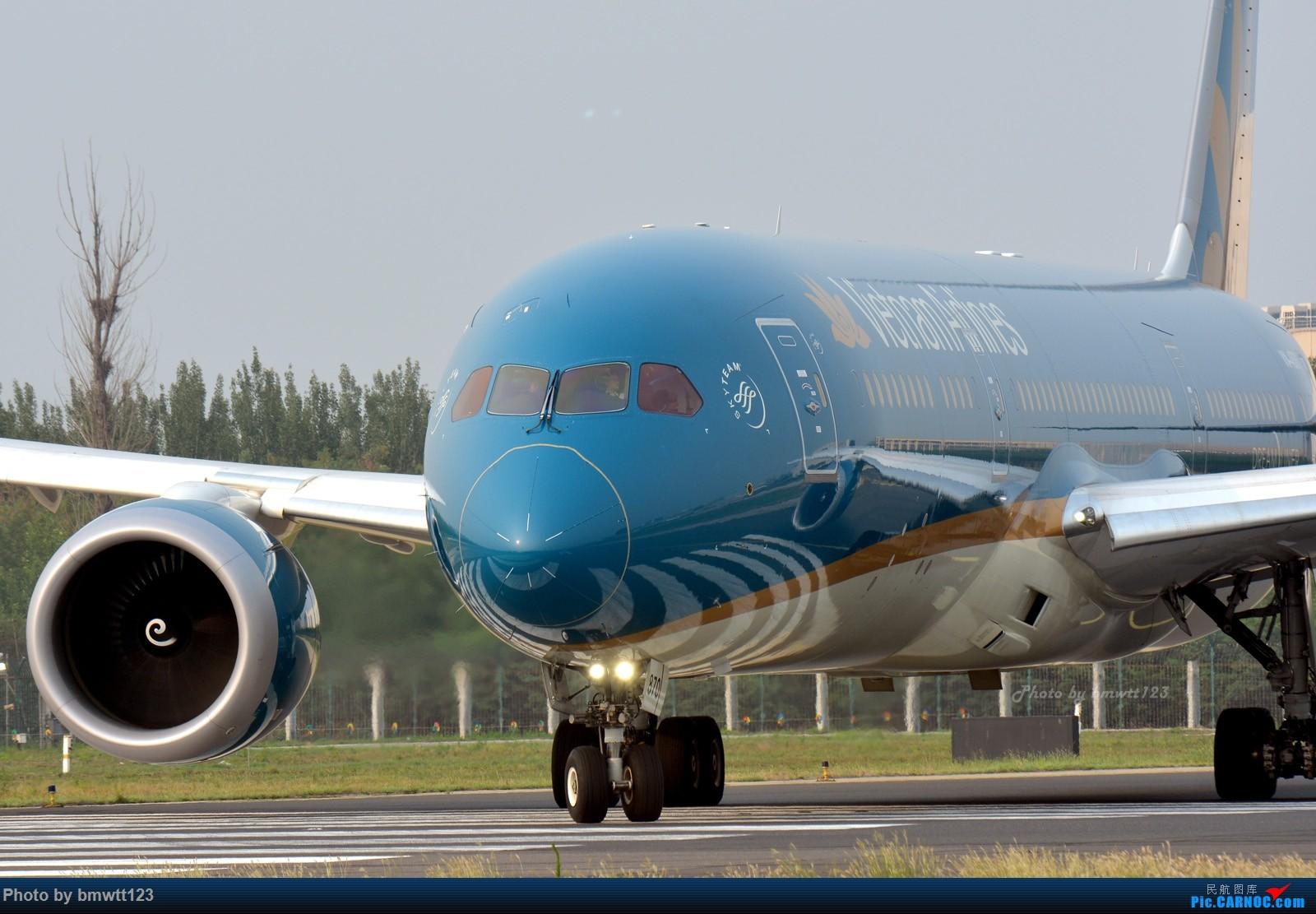 [原创]【PEK帝都】越南家789大头帖 787-9 VN-A870 中国北京首都国际机场