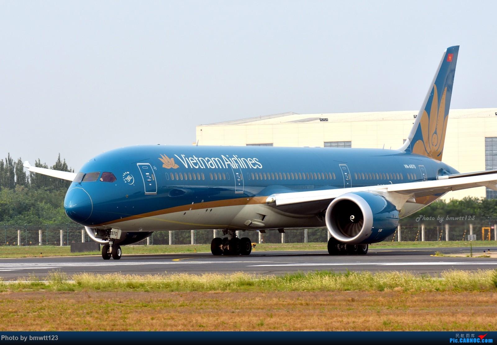 Re:[原创]【PEK帝都】越南家789大头帖 787-9 VN-A870 中国北京首都国际机场